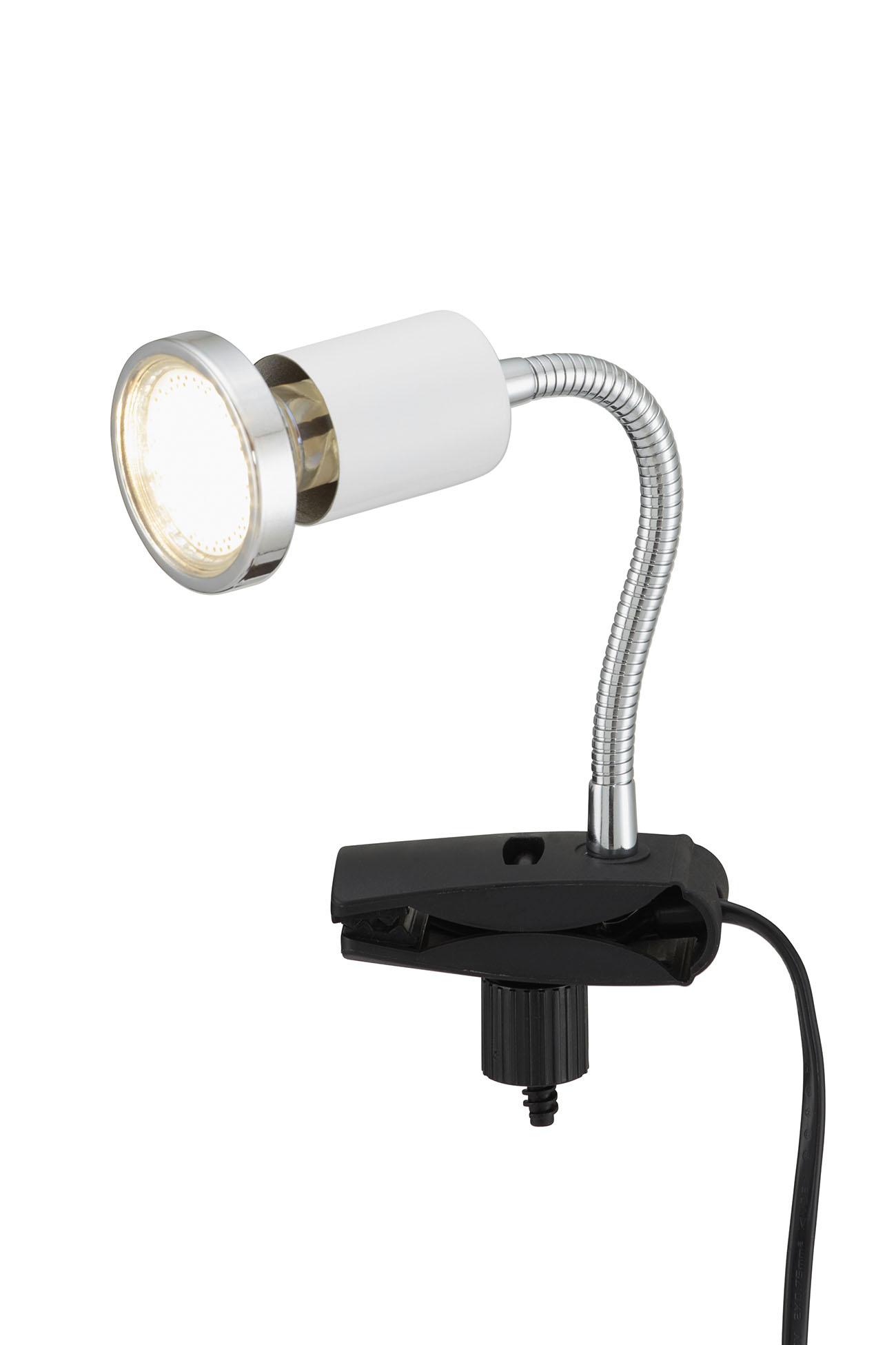 LED Klemmleuchte, 3,5 cm, 3 W, Weiß