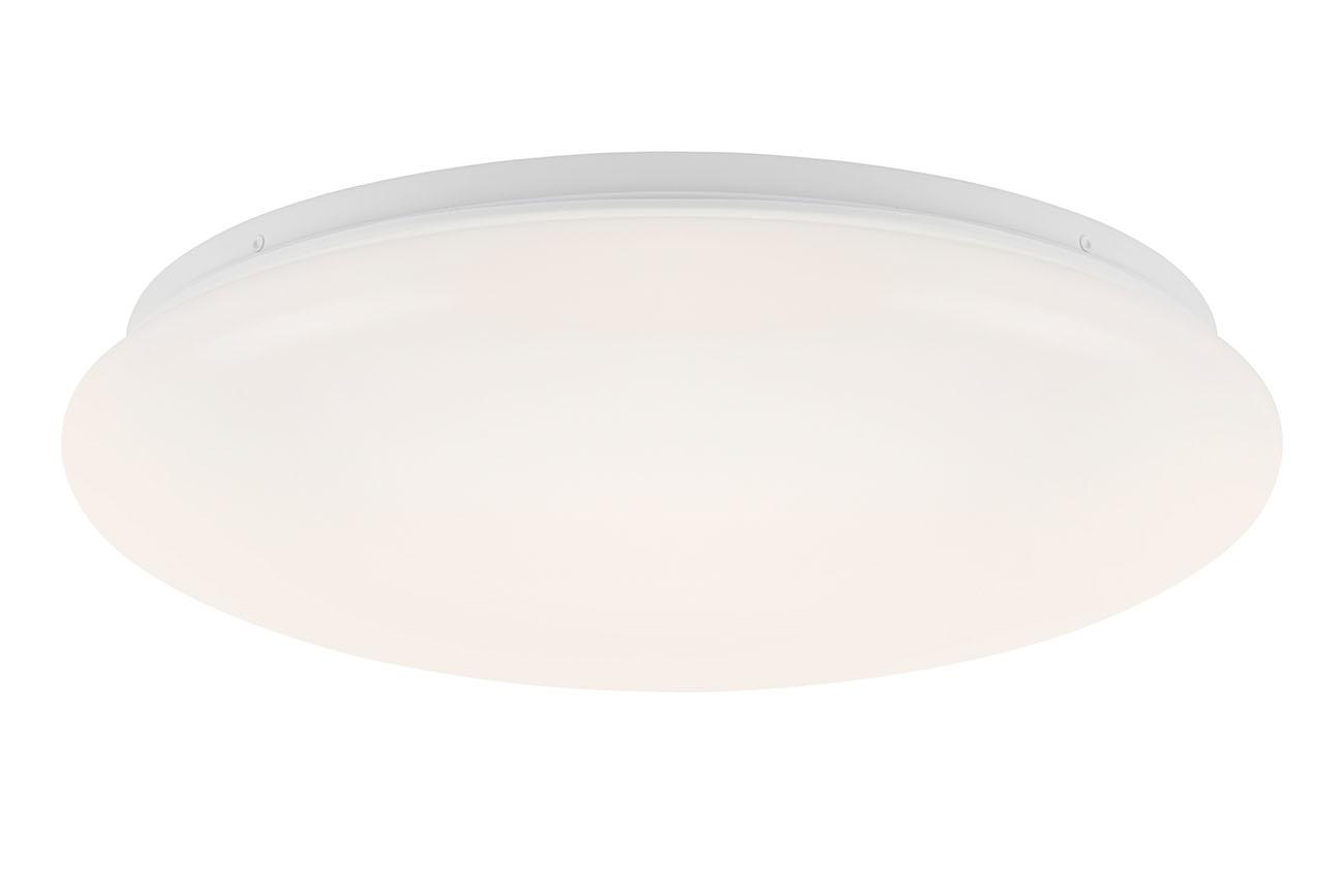 LED Deckenleuchte, Ø 38,5 cm, 18 W, Weiss