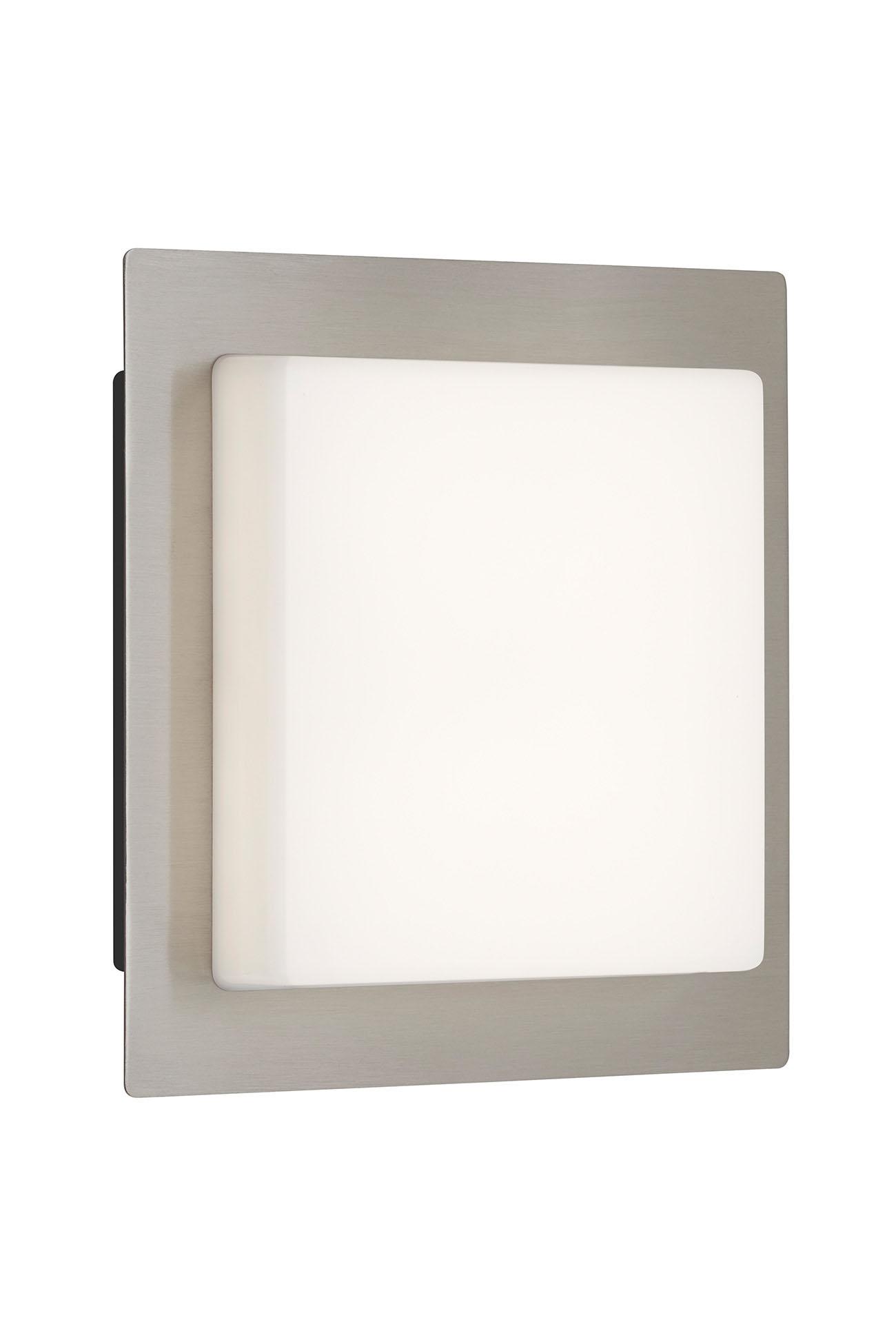 TELEFUNKEN LED Aussenwandleuchte, 30 cm, 15 W, Silber