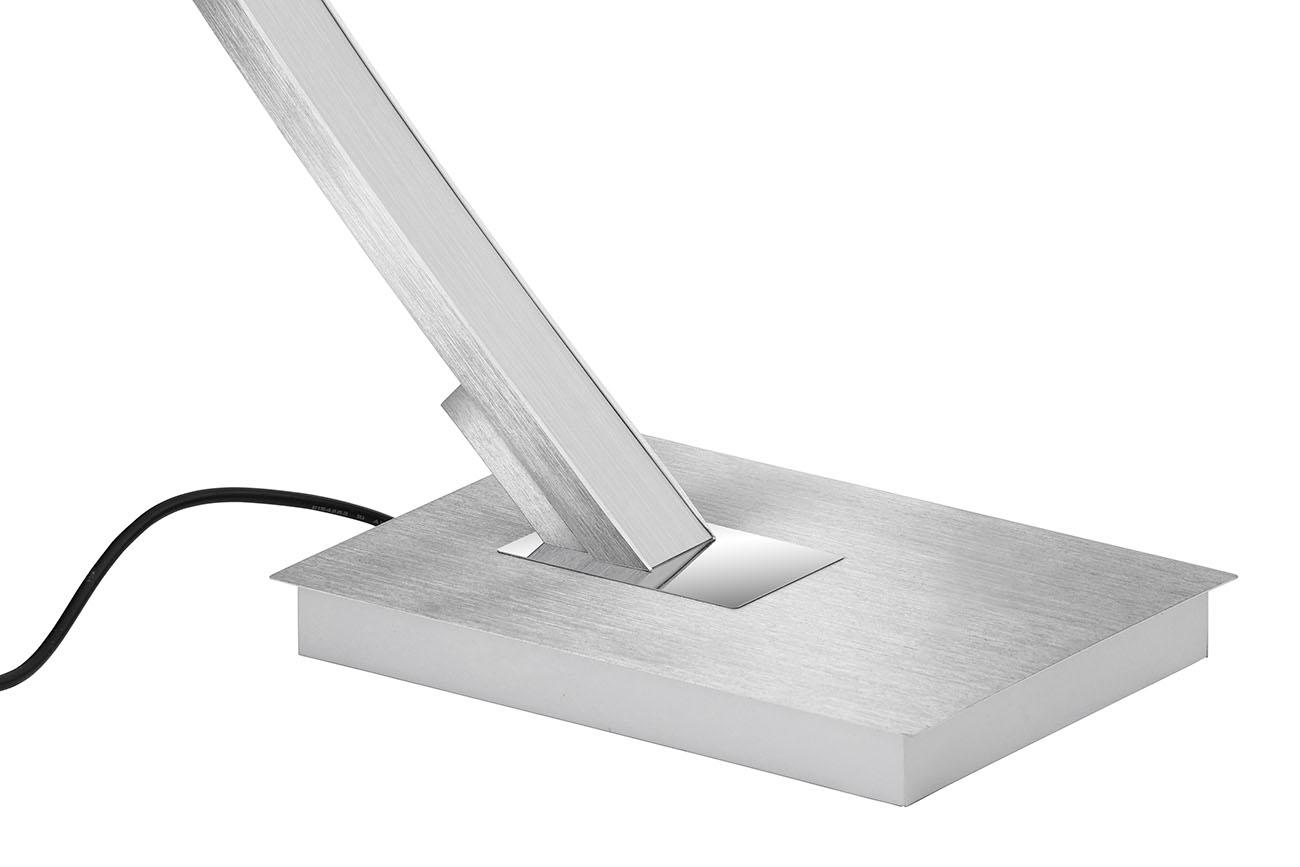 LED Bogenleuchte, 165 cm, 18 W, Alu