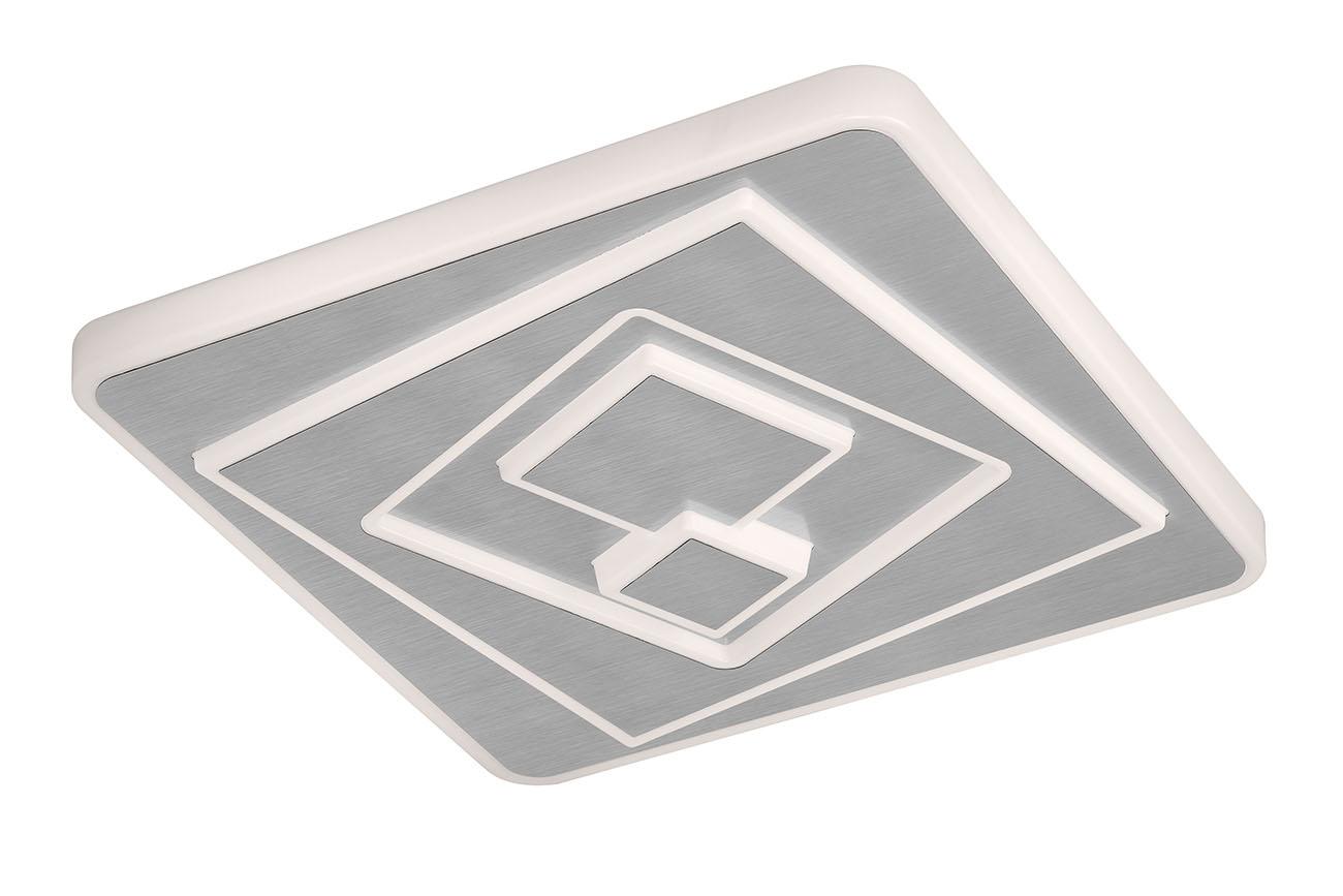 CCT LED Deckenleuchte, 47 cm, 48 W, Chrom