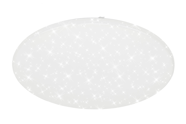 TELEFUNKEN Smart LED Deckenleuchte, Ø 76 cm, 60 W, Weiß