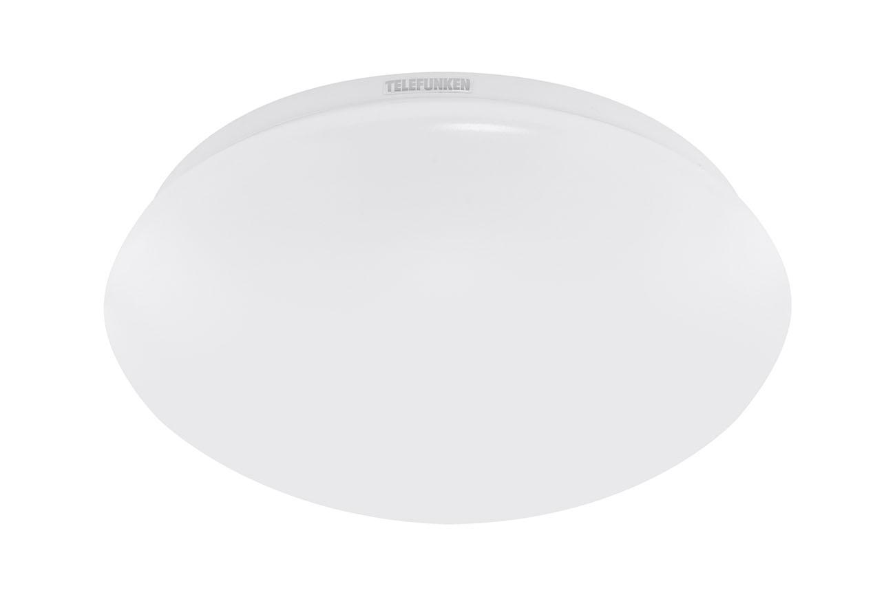 TELEFUNKEN Sensor LED Deckenleuchte, Ø 28 cm, 15 W, Weiß
