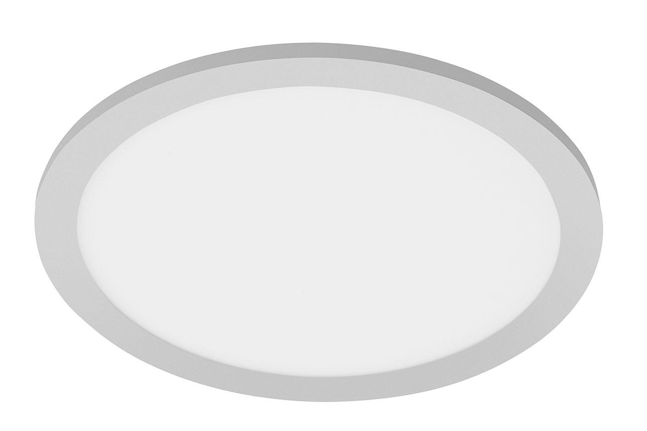 TELEFUNKEN Sensor LED Panel, Ø 30 cm, 20 W, Chrom-Matt-Weiss
