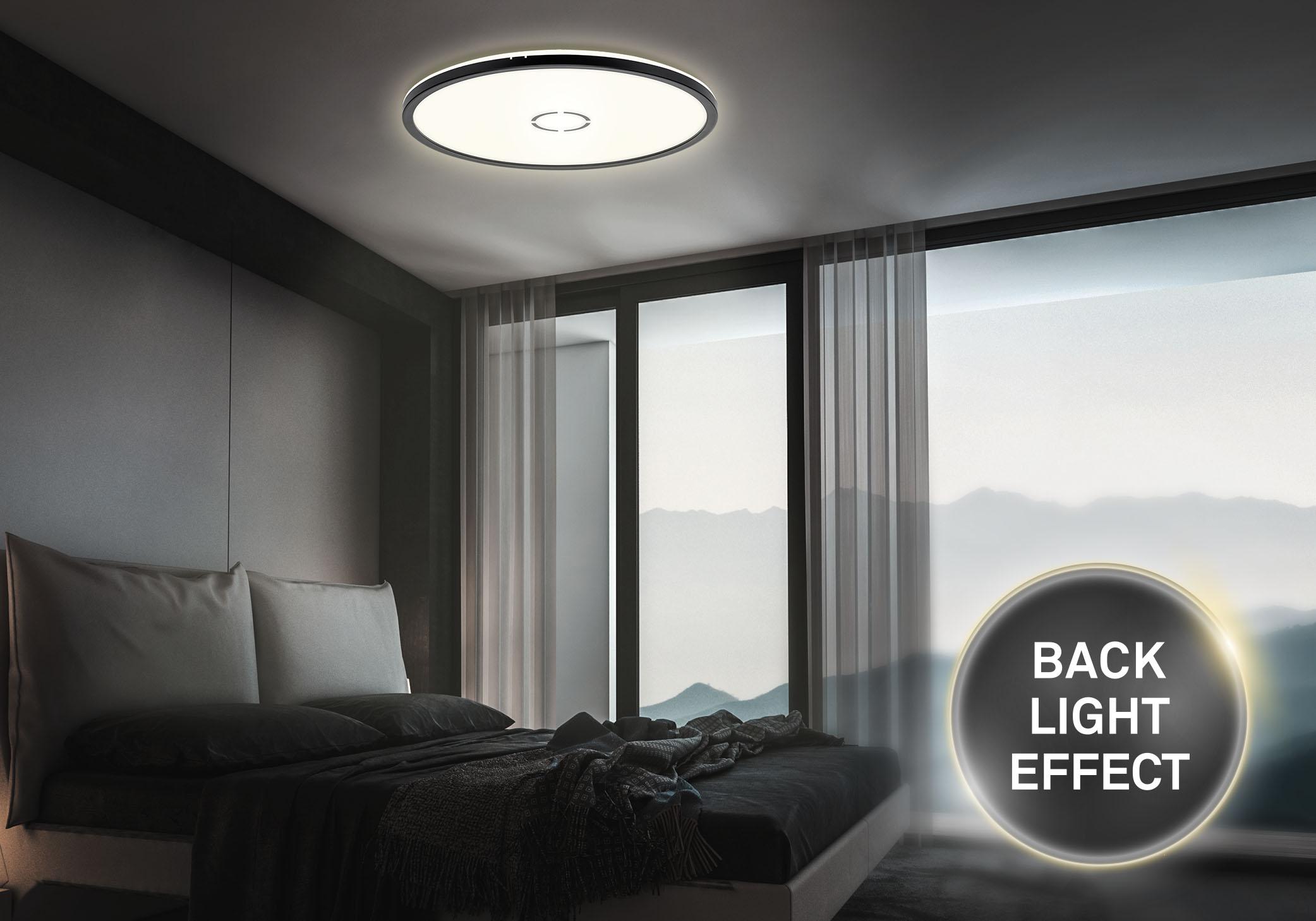 Back Light Effekt LED Deckenleuchte