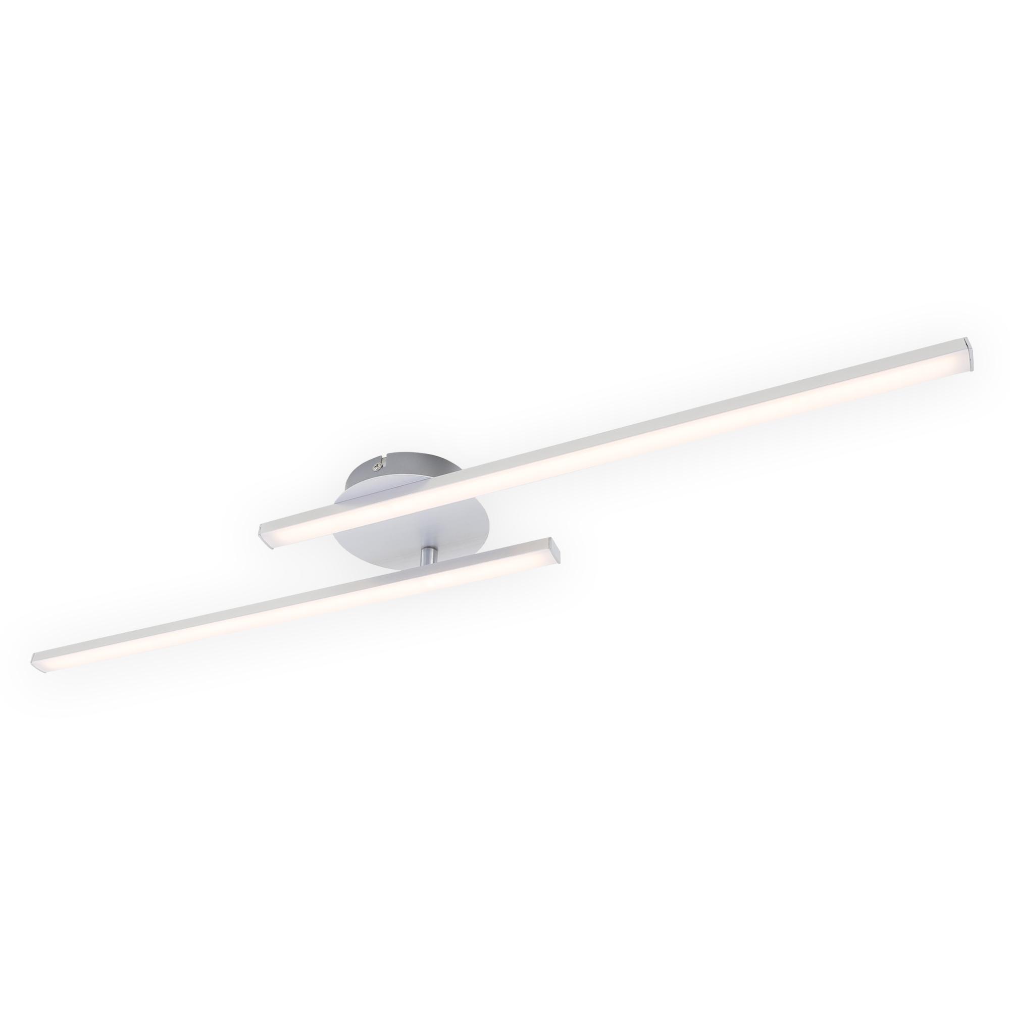 LED Wand- und Deckenleuchte, 78,2 cm, 18 W, Alu