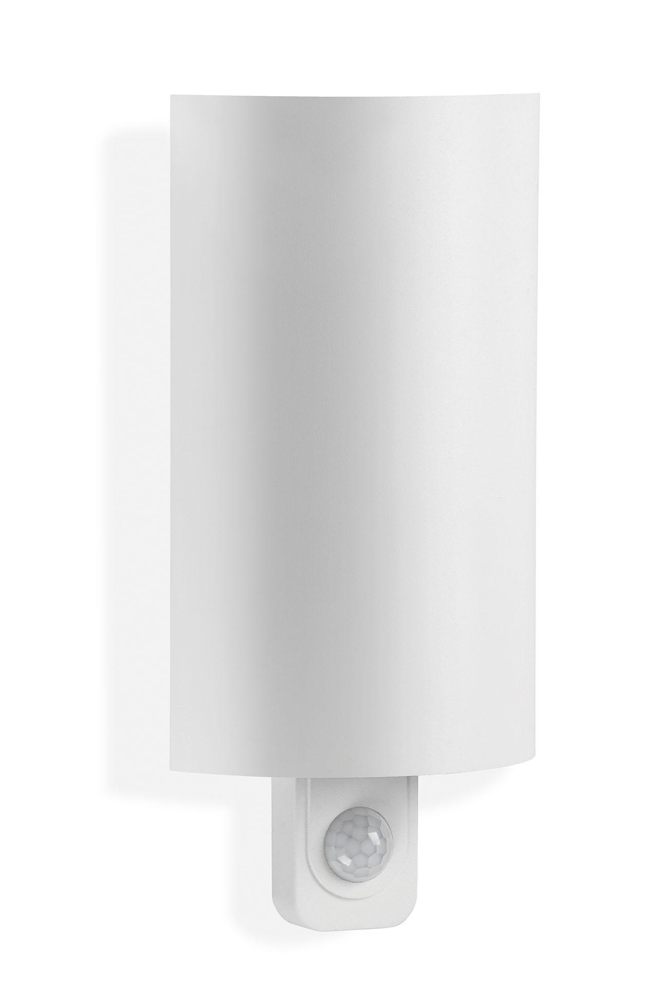 TELEFUNKEN Sensor LED Aussenleuchte, 25 cm, 7,5 W, Weiss