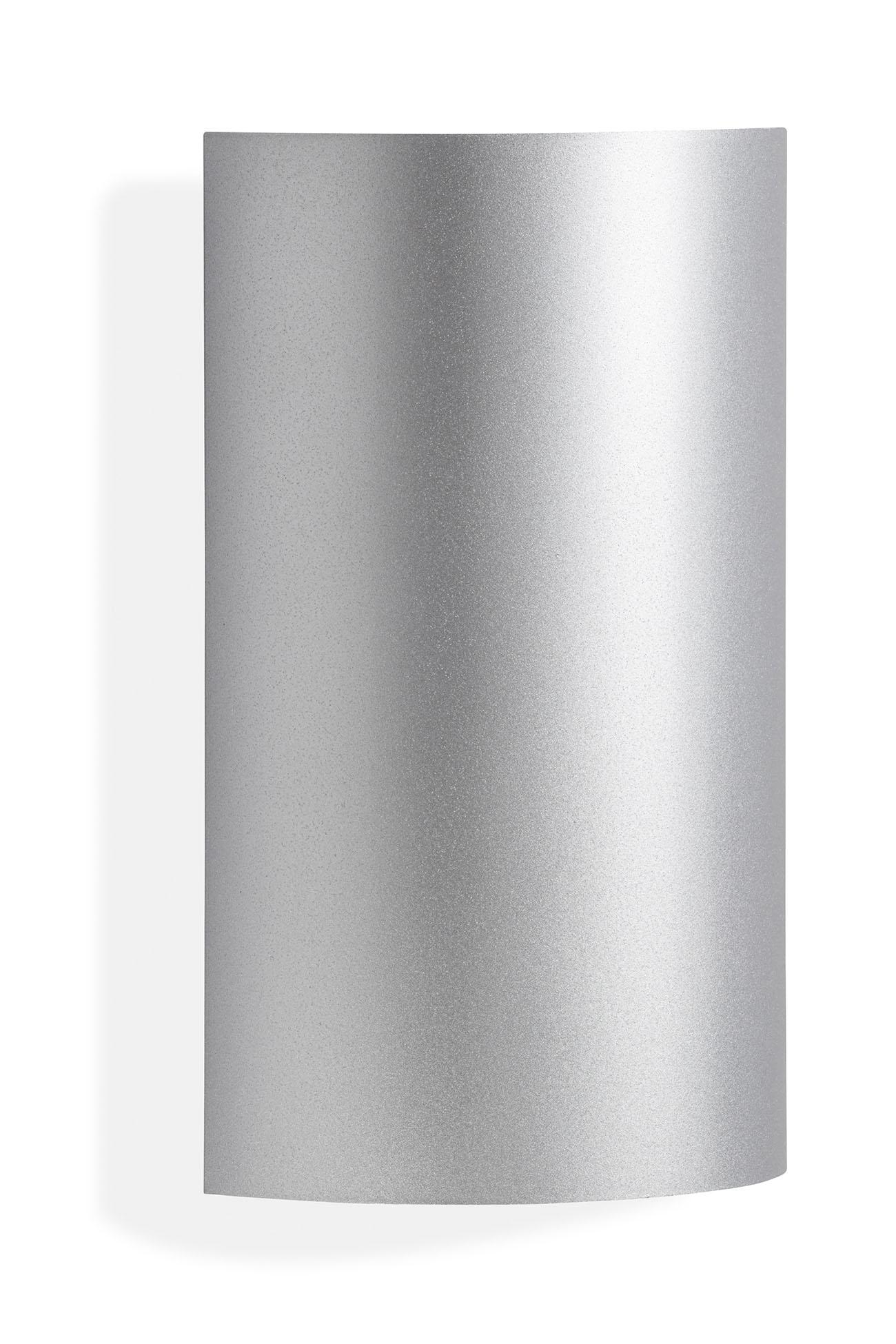 TELEFUNKEN LED Außenwandleuchte, 20 cm, 6 W, Silber