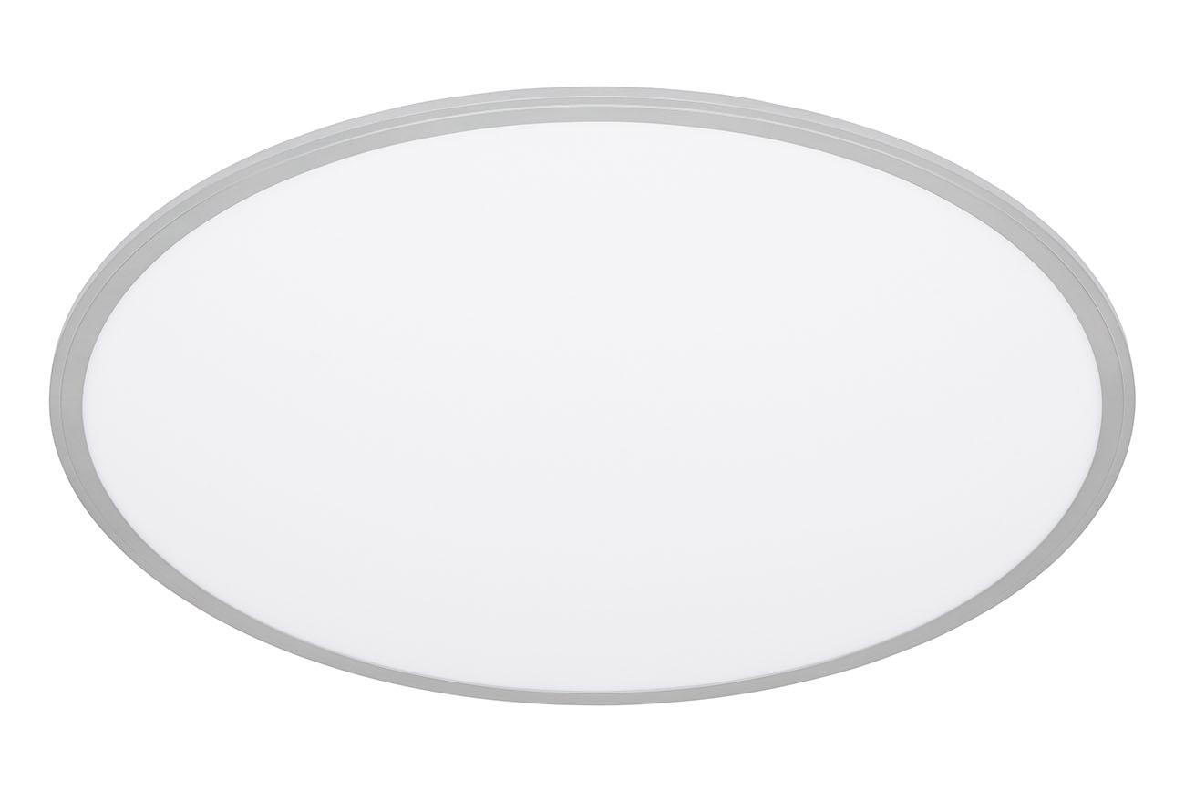 CCT LED Panel, Ø 76 cm, 4000 LUMEN, 36 WATT, Silber