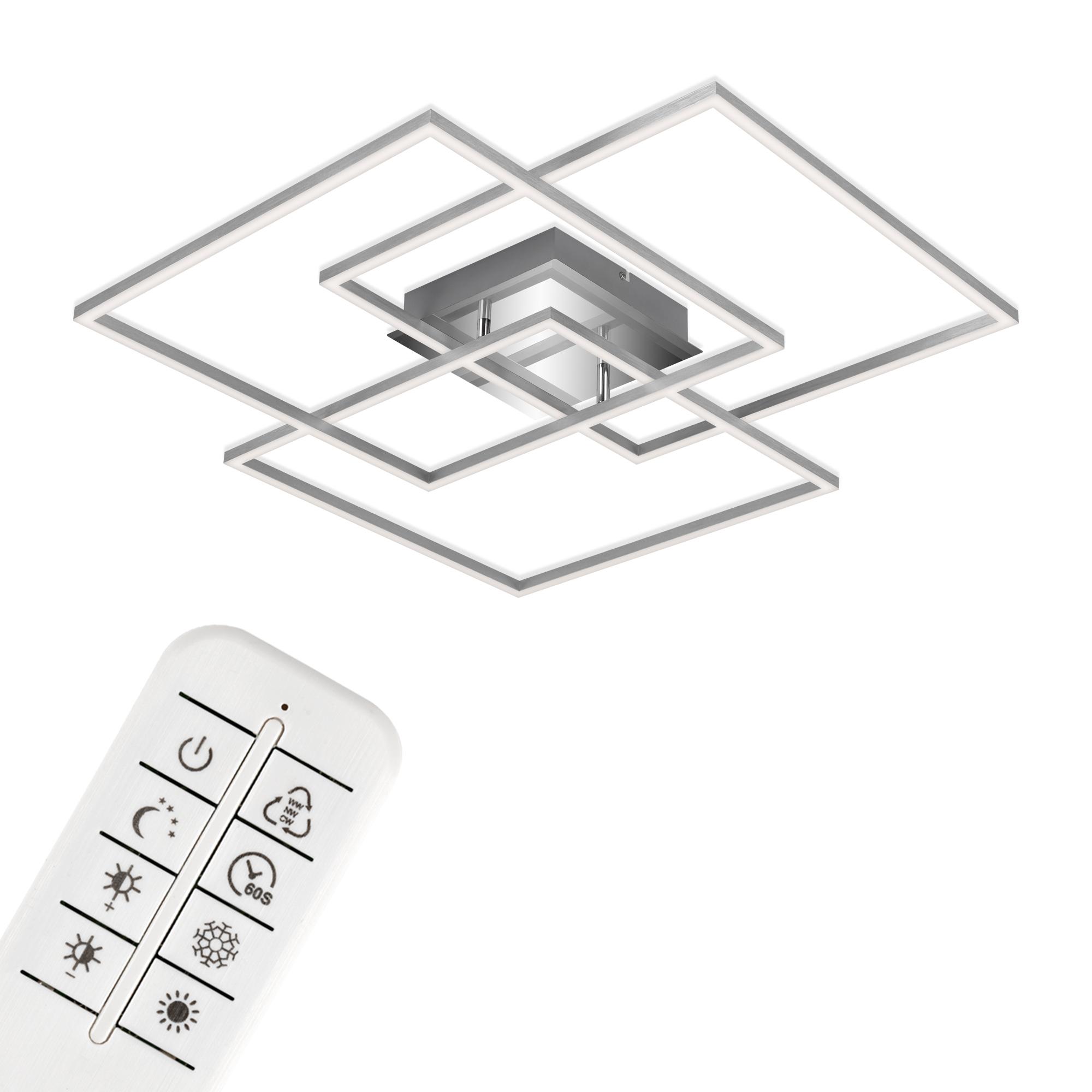 CCT LED Deckenleuchte Alu
