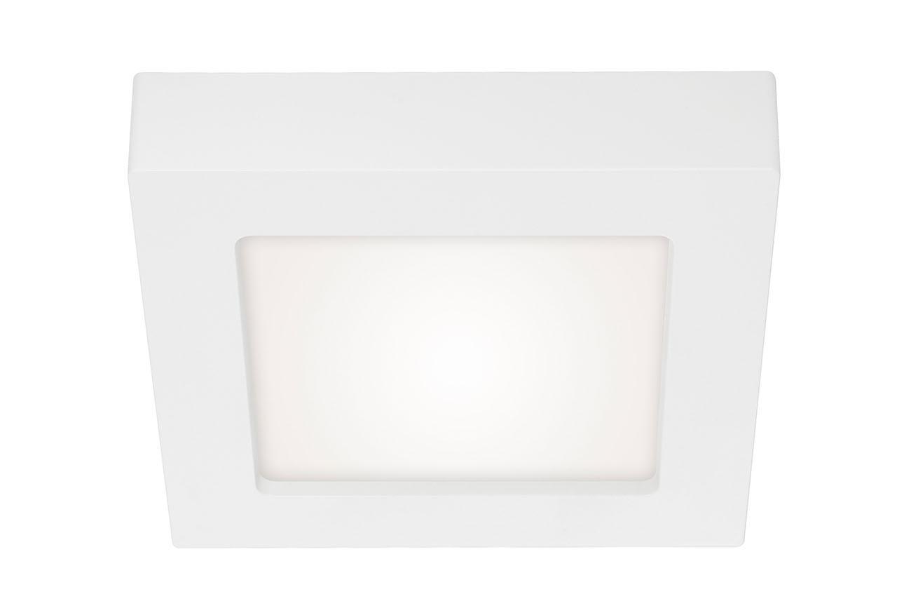 2in1 LED Auf- und Einbauleuchte, 17,2 cm, 12 W, Weiß