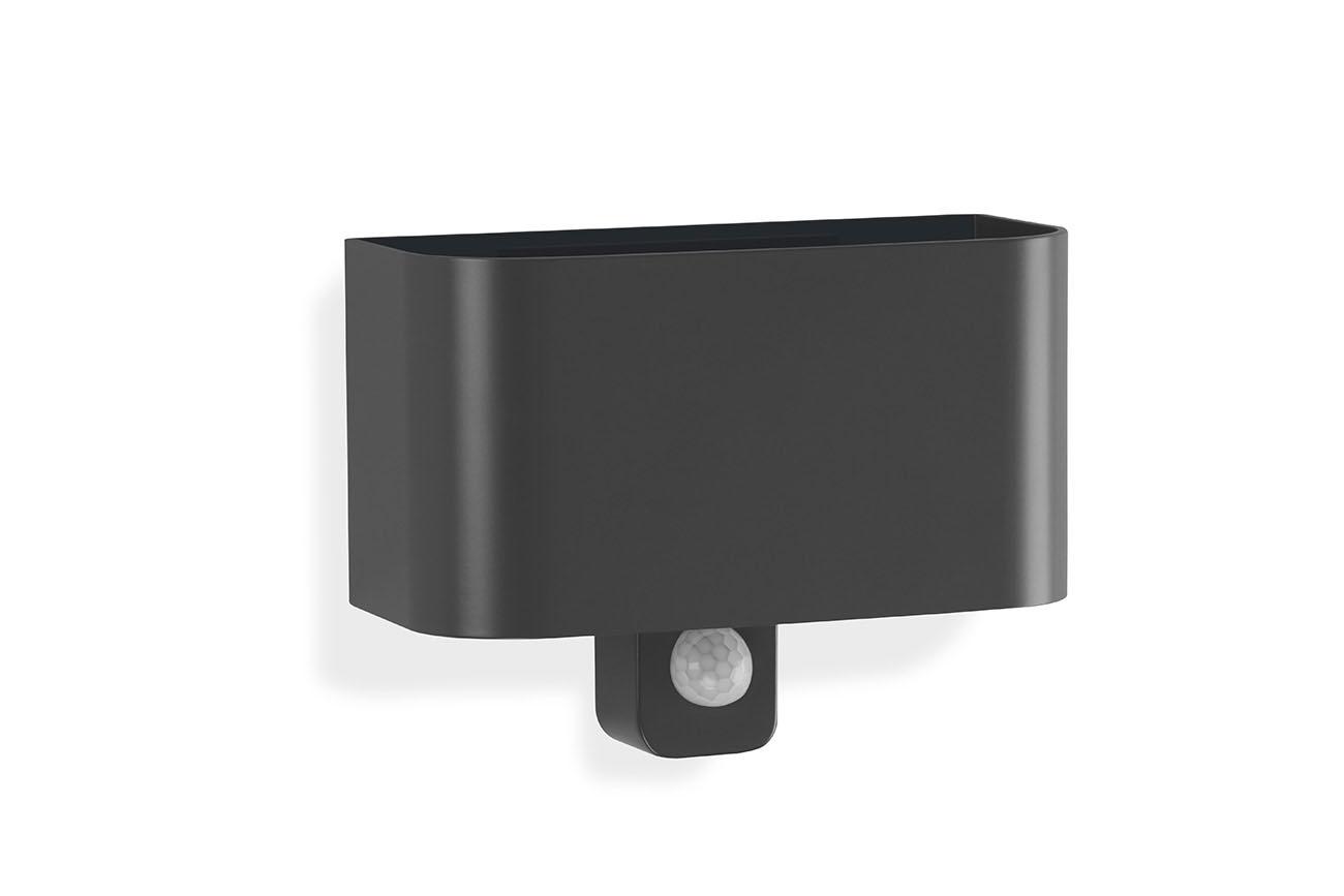 TELEFUNKEN Sensor LED Aussenleuchte, 18 cm, 7 W, Anthrazit