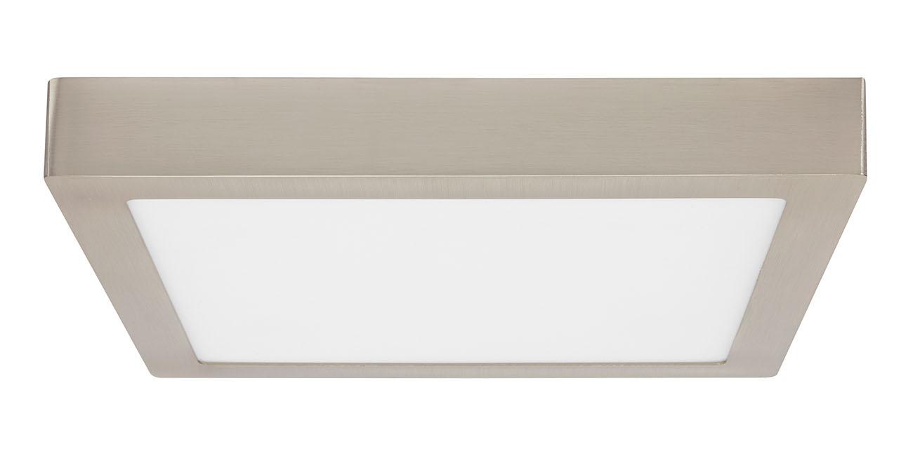 TELEFUNKEN Smart LED Aufbauleuchte, 30 cm, 23 W, Matt-Nickel