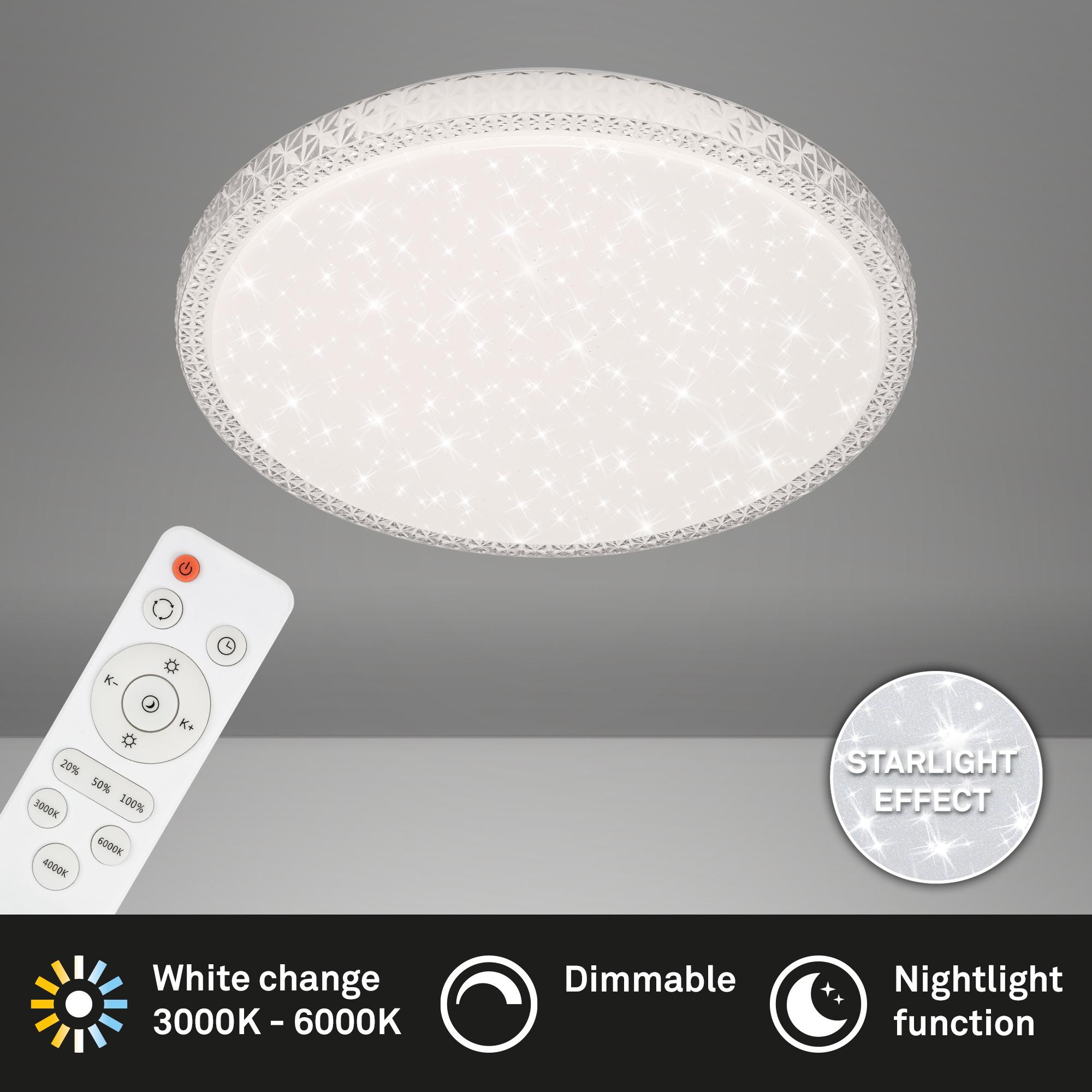 STERNENHIMMEL LED Deckenleuchte Weiß