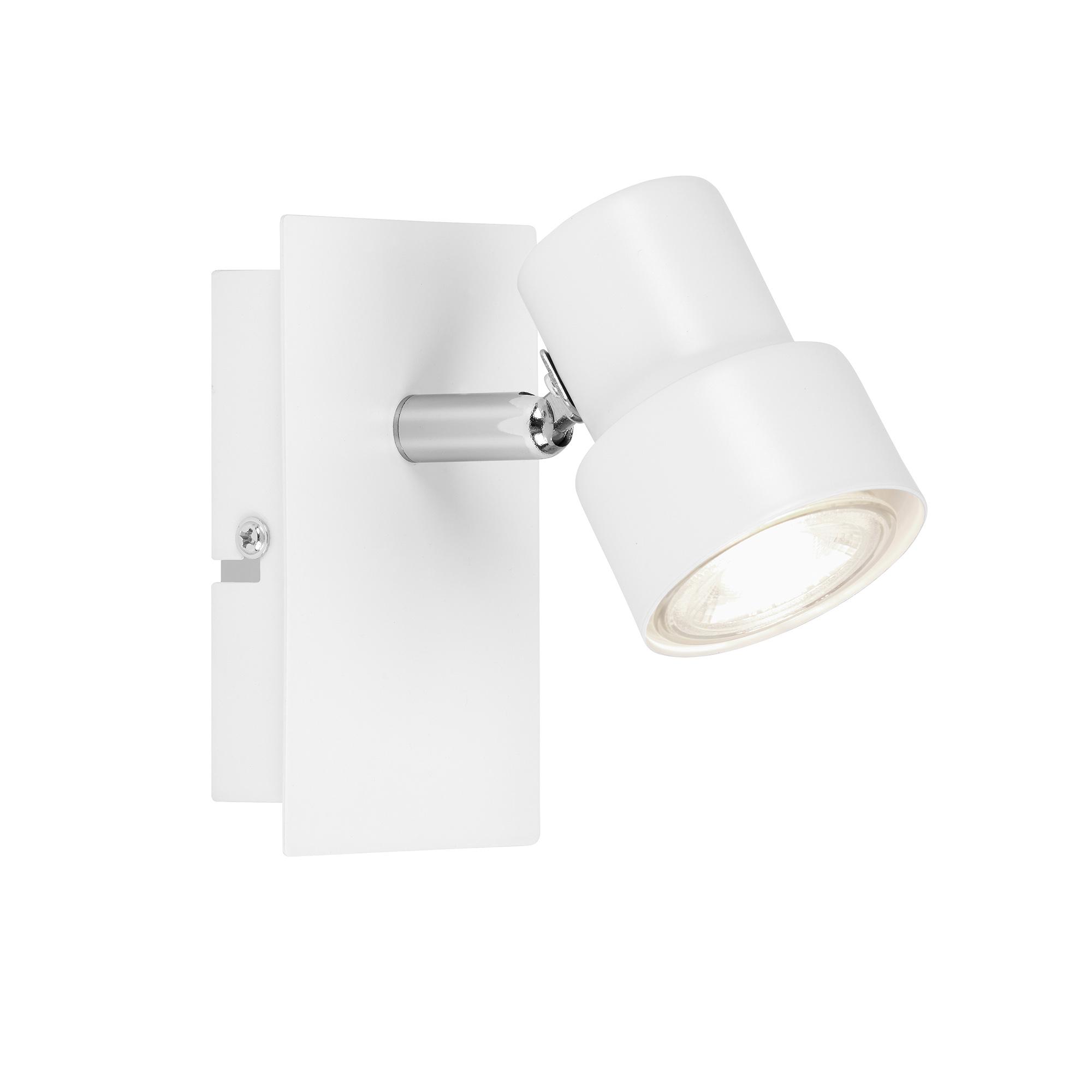 LED Spot Wand- und Deckenleuchte, 12 cm, 5 W, Weiß