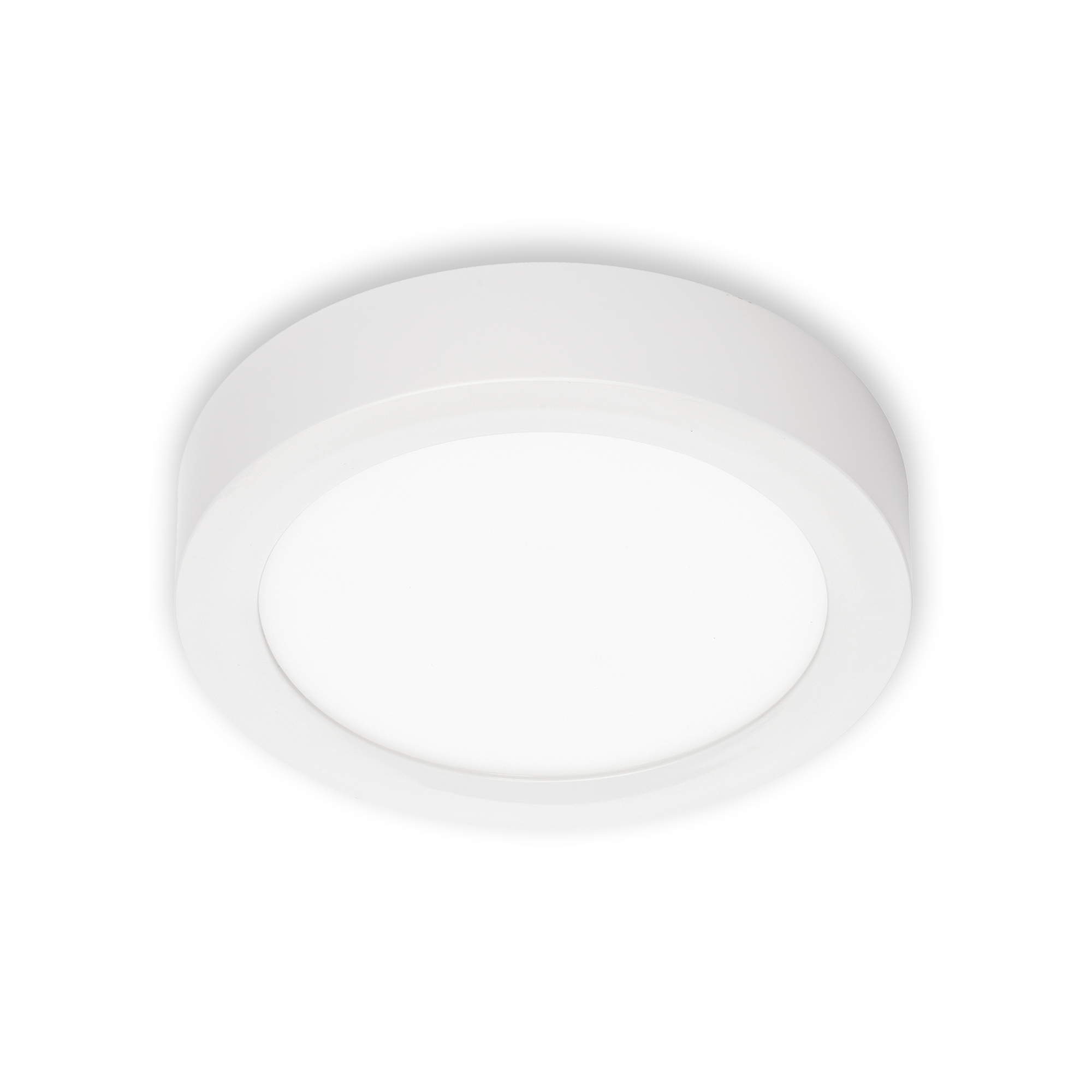LED Deckenleuchte, Ø 17 cm, 12 W, Weiß