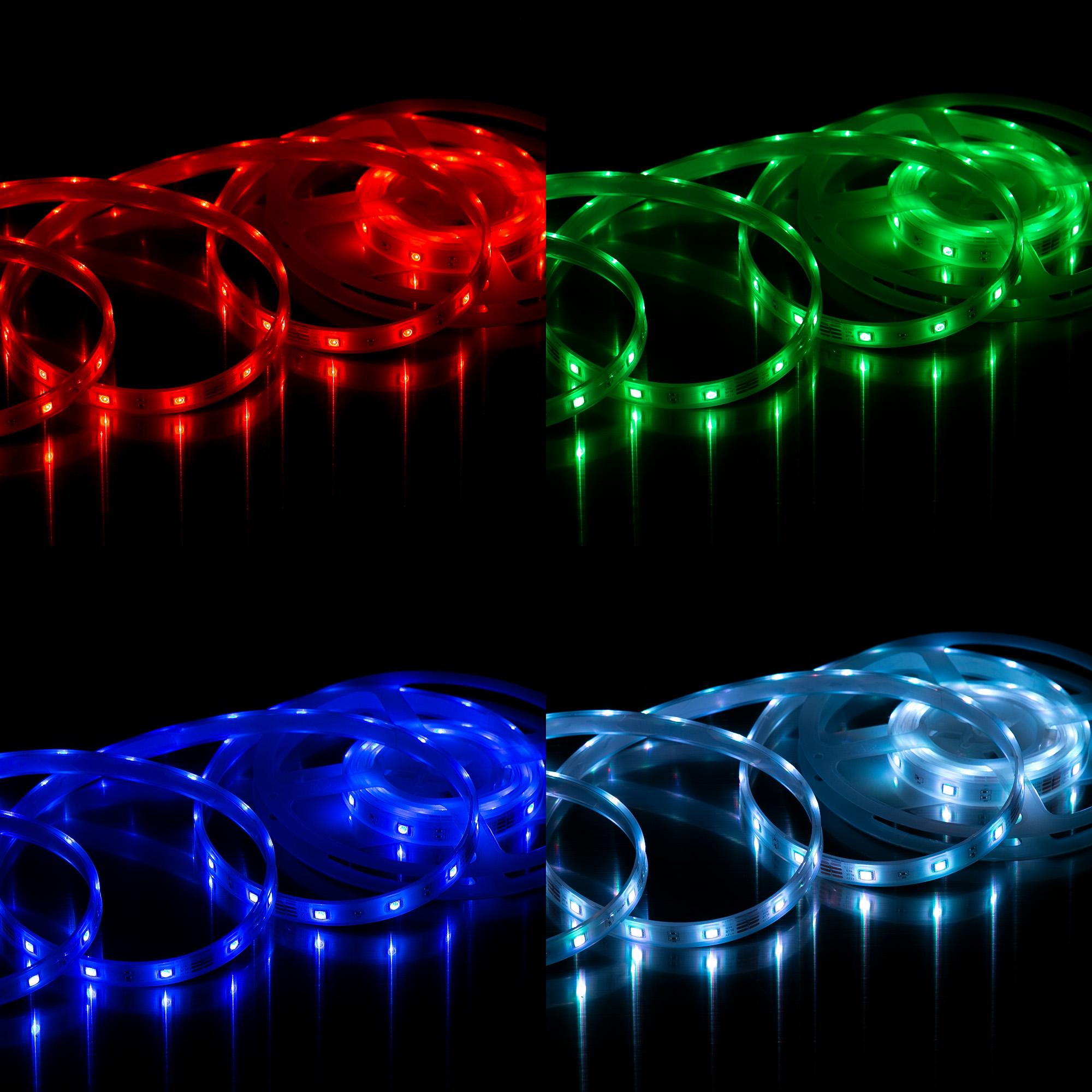 RGB LED Flexband Weiß