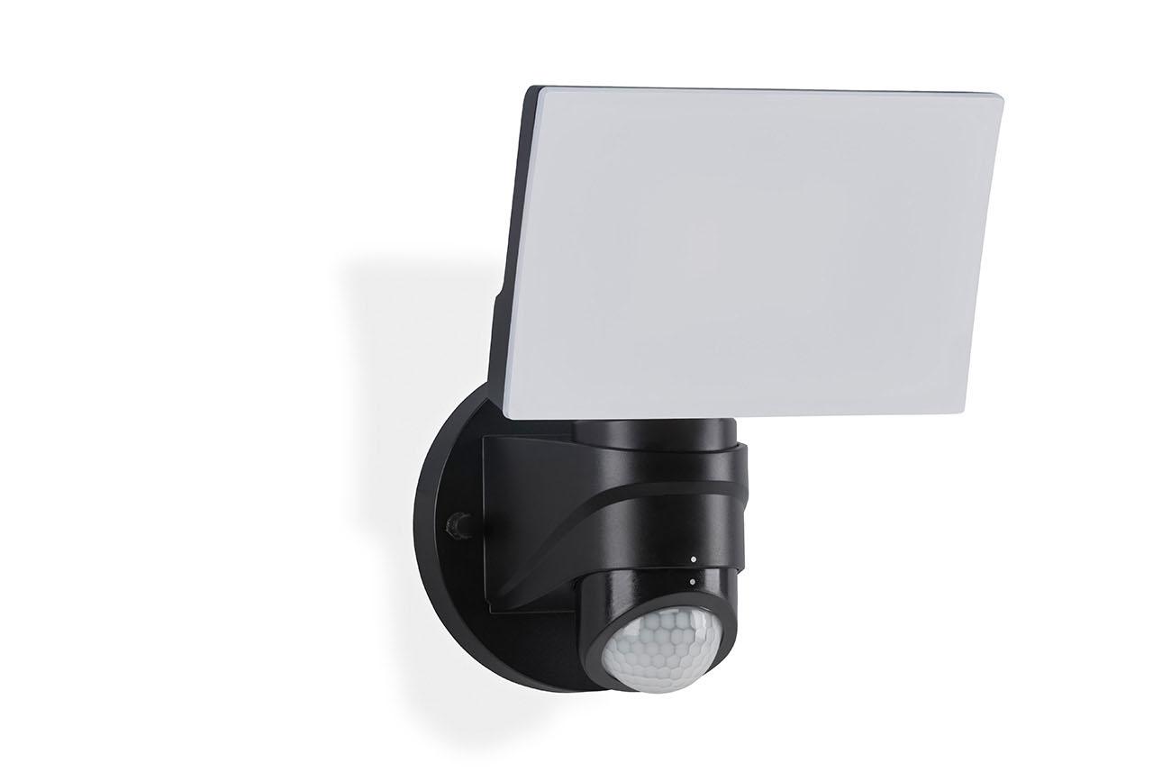 TELEFUNKEN LED Sensor Aussenstrahler, 24 cm, 16 W, Schwarz