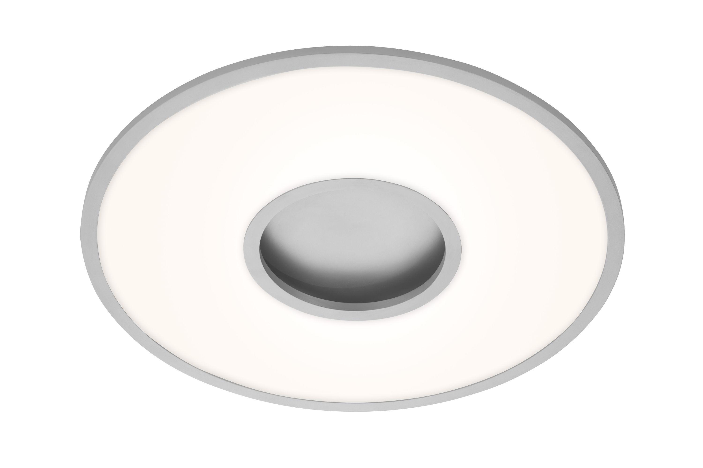 CCT LED Deckenleuchte, Ø 59,5 cm, 40 W, Chrom-Matt