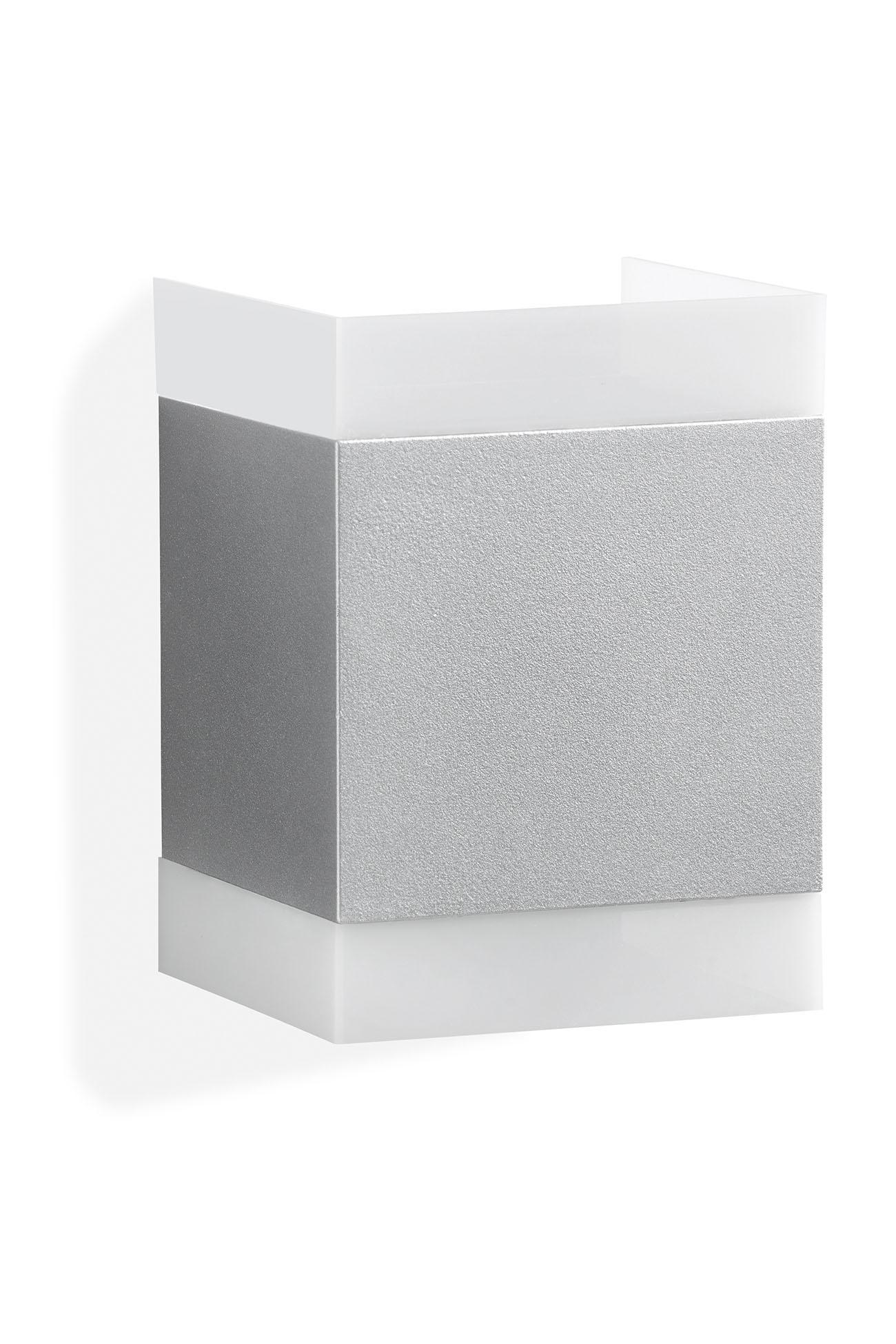 TELEFUNKEN LED Aussenleuchte, 15 cm, 7 W, Silber