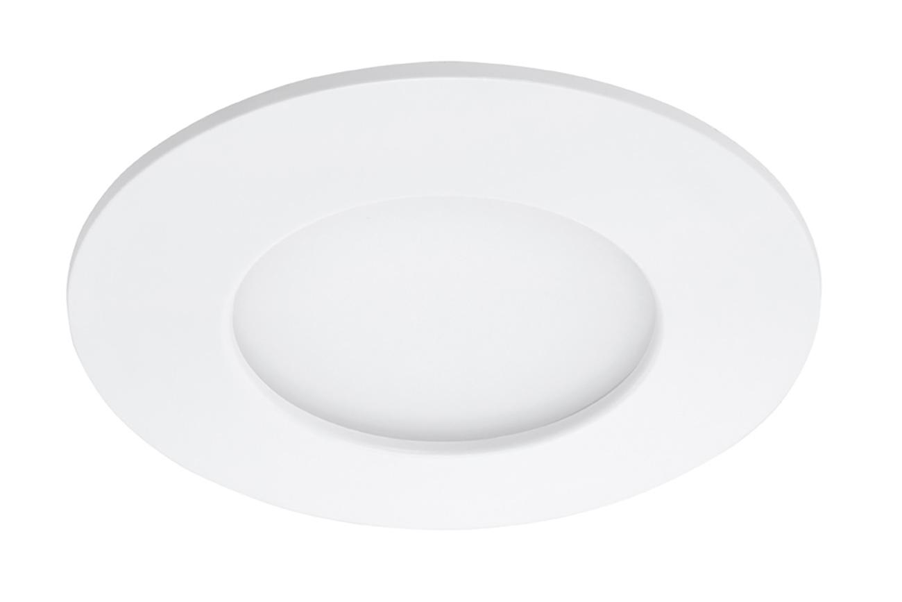 LED Einbauleuchte, Ø 8,5 cm, 5 W, Weiß