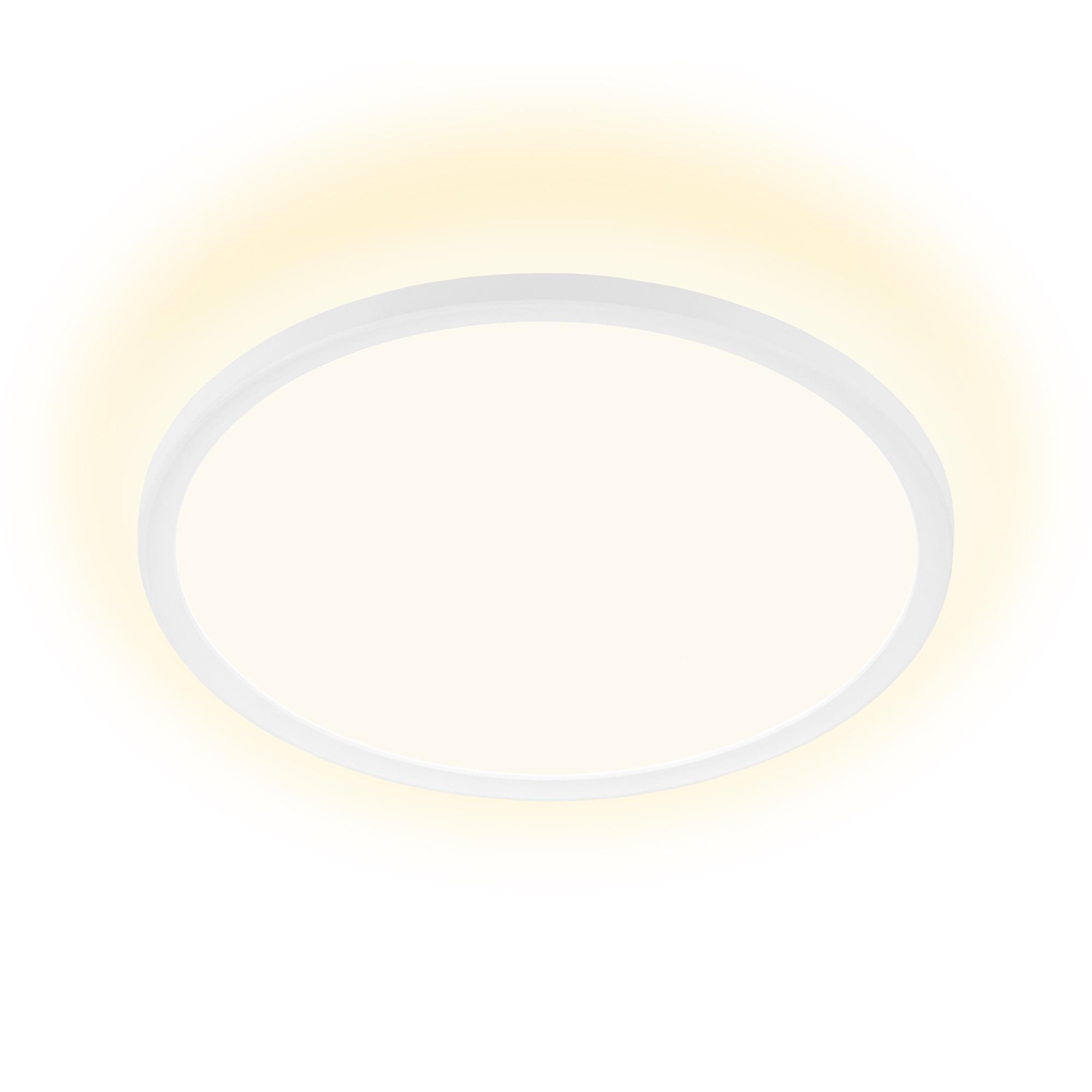 SLIM LED Panel, Ø 29,3cm, 2400 LUMEN, 18 WATT, Weiss