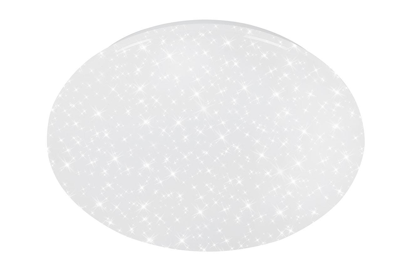 STERNENHIMMEL LED Deckenleuchte, Ø 38,5 cm, 18 W, Weiß
