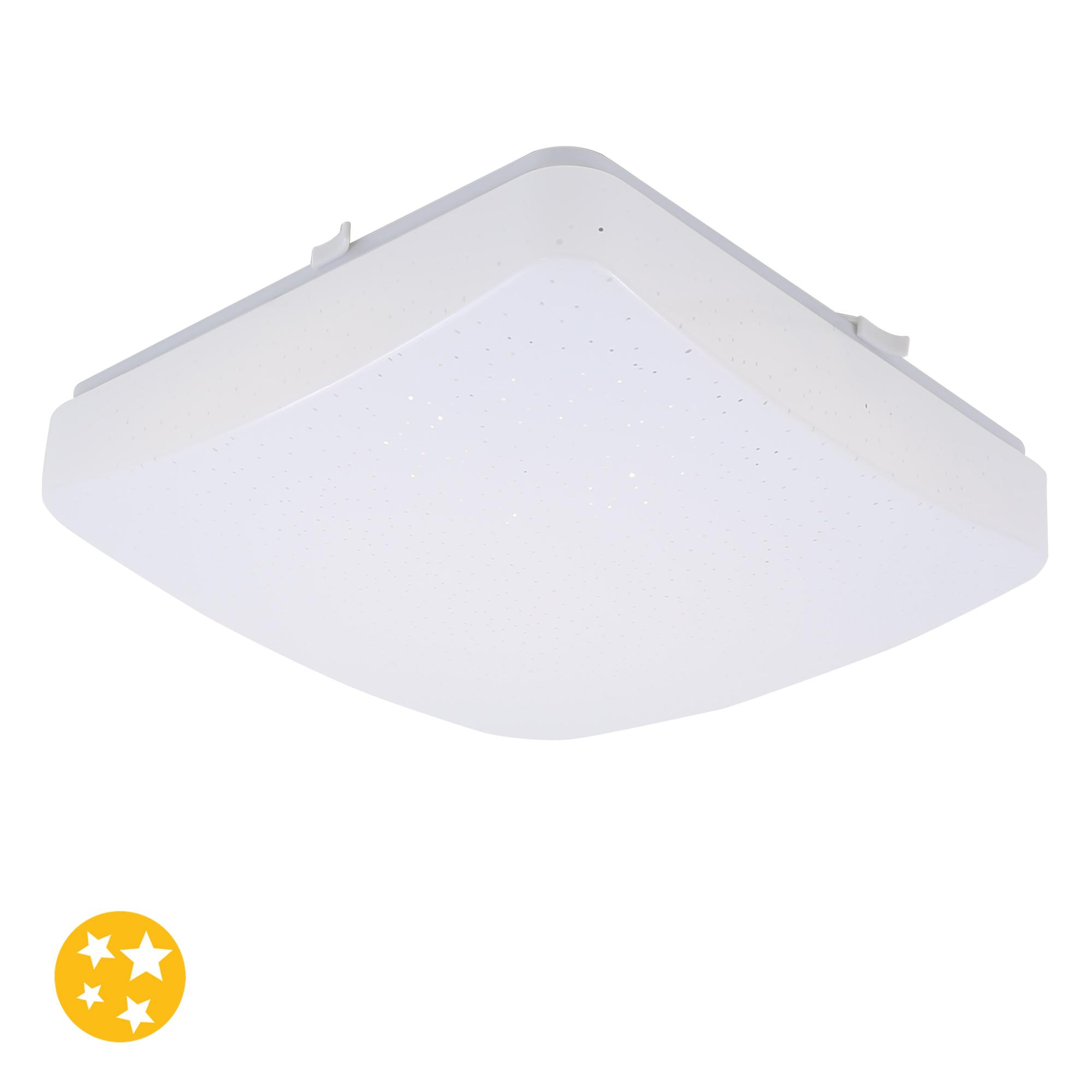 STERNENHIMMEL LED Deckenleuchte, 27 cm, 12 W, Weiss