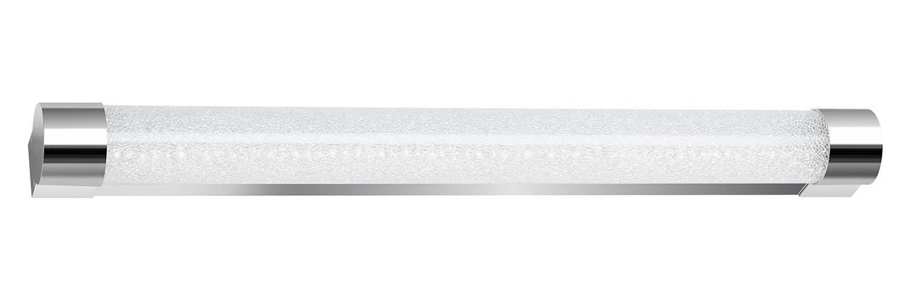 LED Wand- und Deckenleuchte, 59,2 cm, 12 W, Chrom