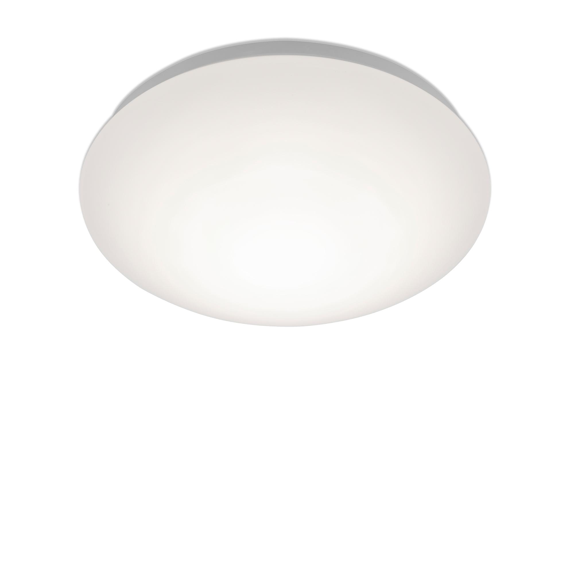 LED Deckenleuchte, Ø 28 cm, 12 W, Weiss