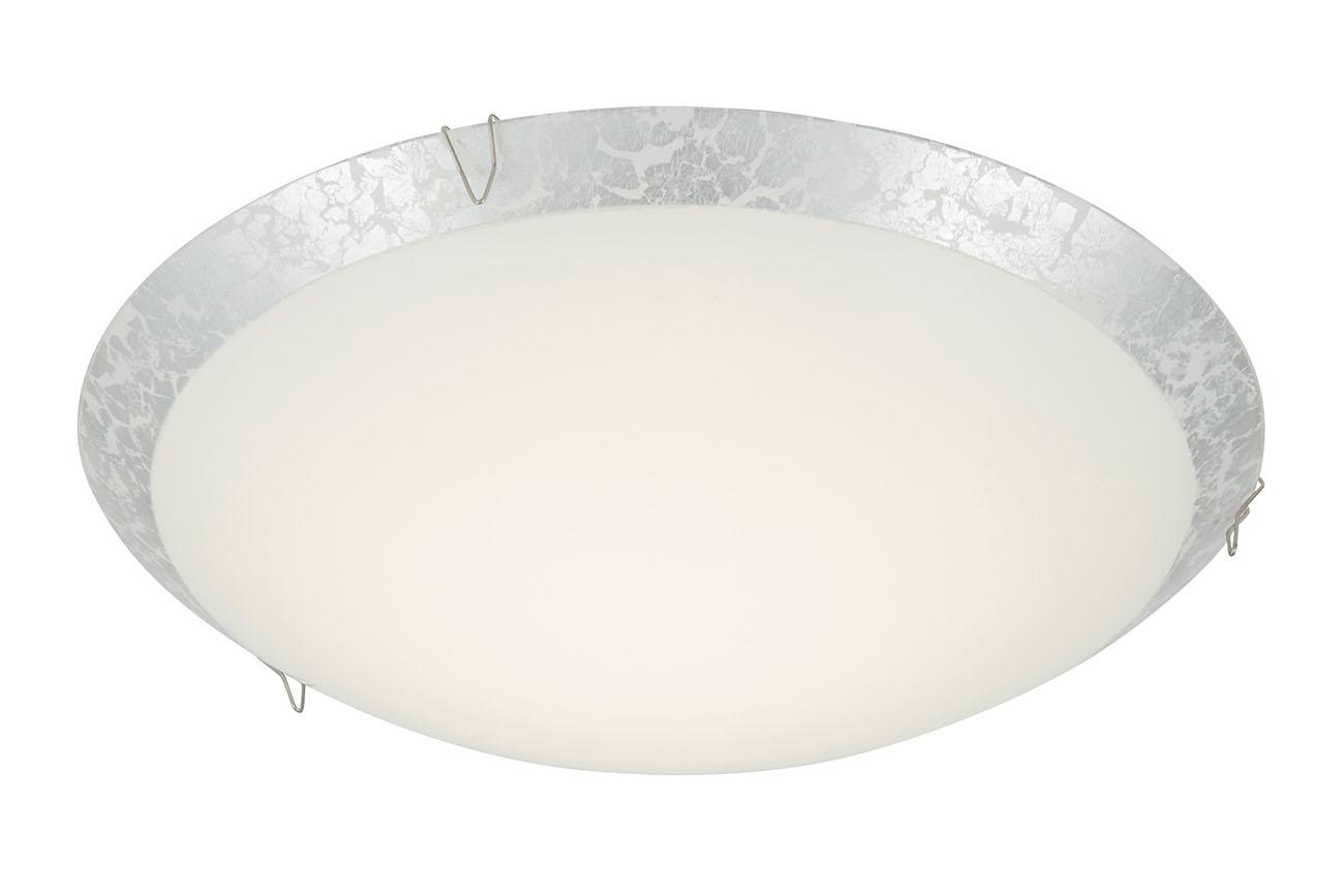 LED Deckenleuchte, Ø25 cm, 8,4 W, Silber