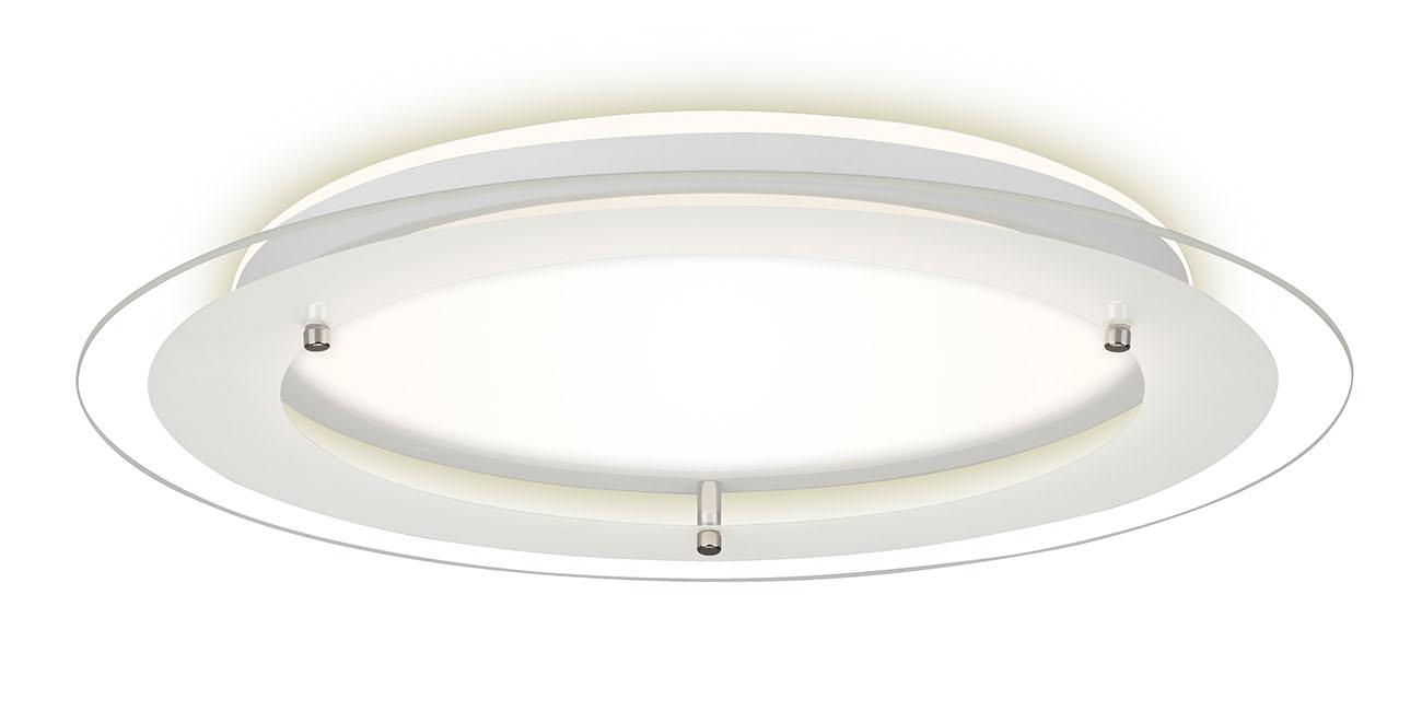 LED Deckenleuchte, Ø 40 cm, 18 W, Weiß