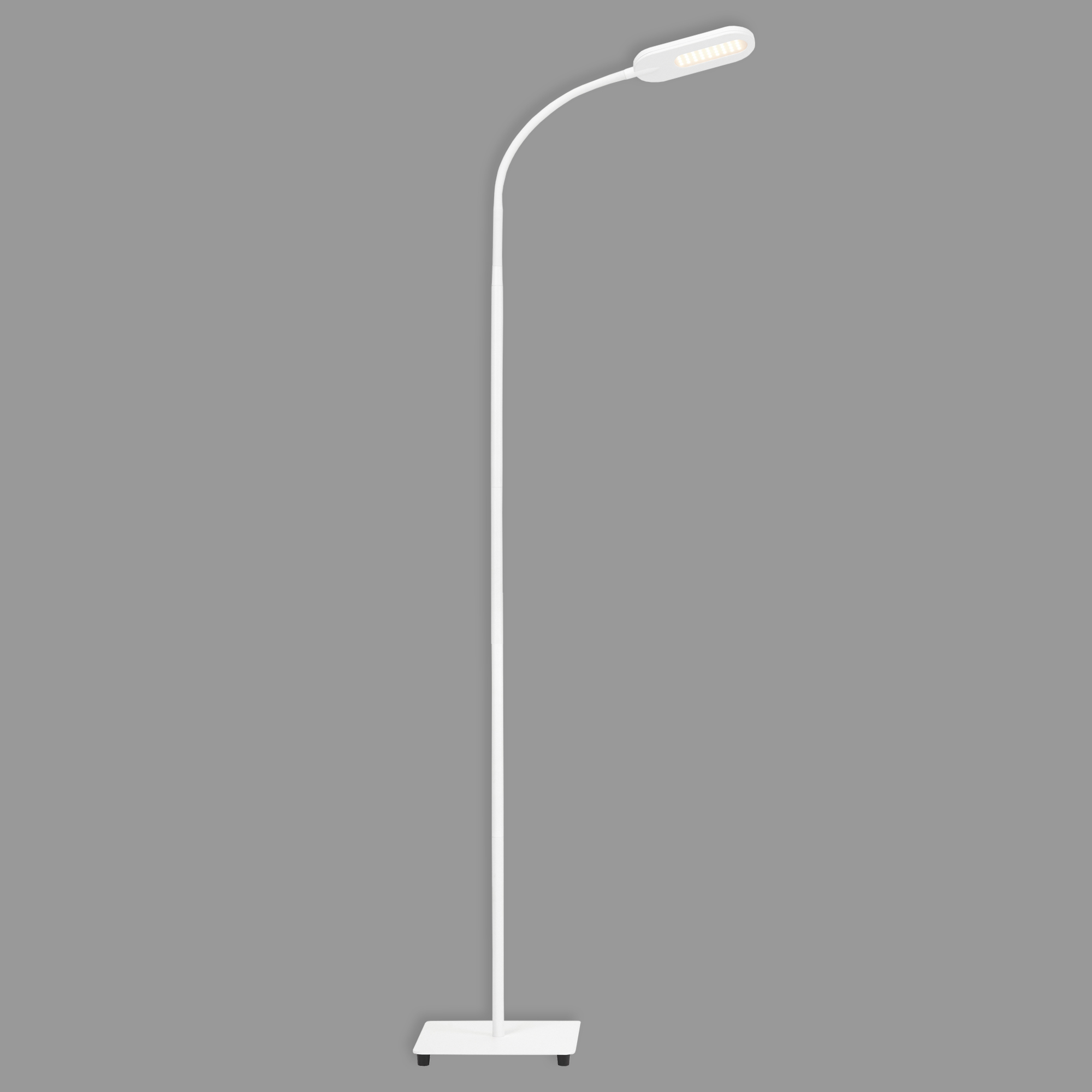 CCT LED Stehleuchte, 158,6 cm, 8 W, Weiss