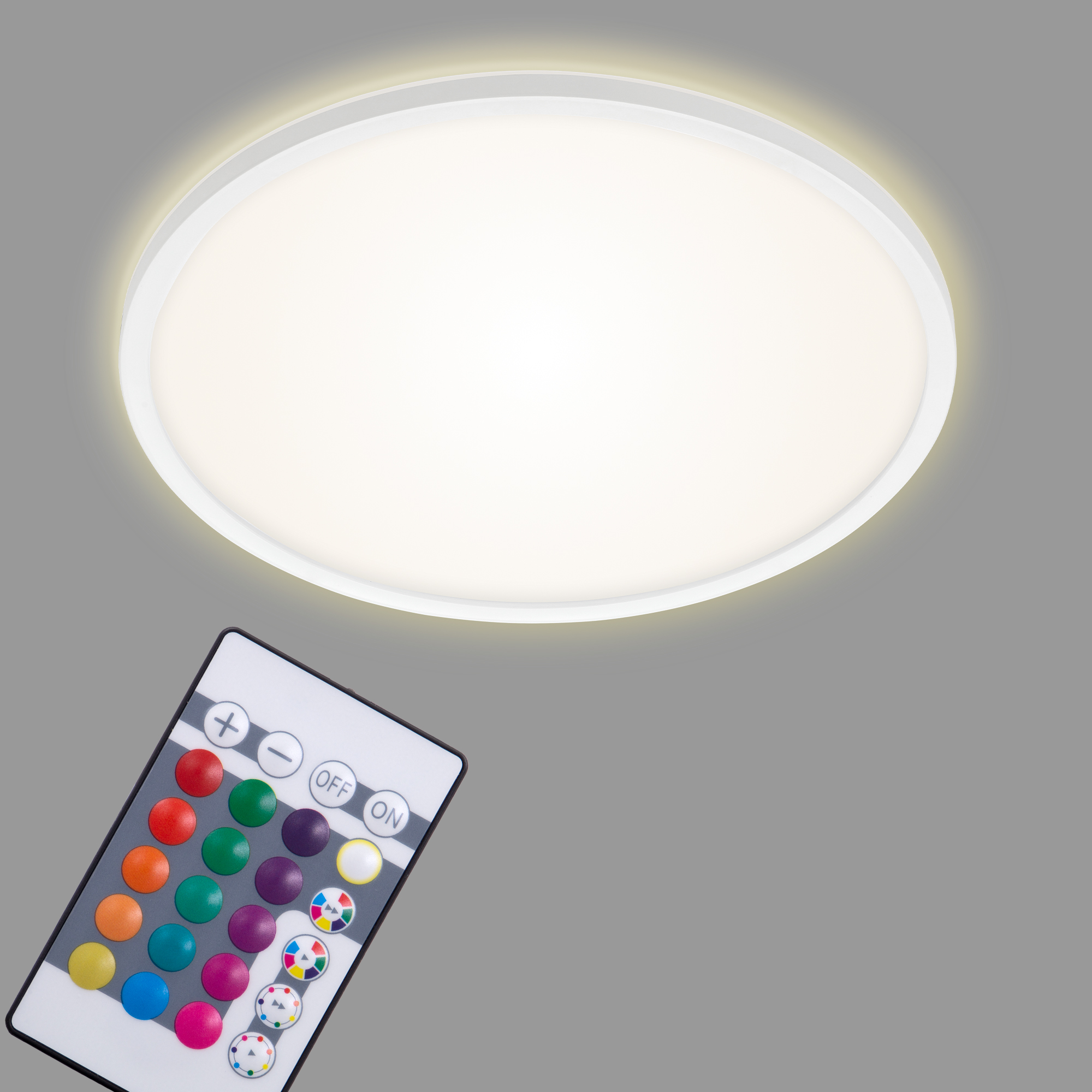 SLIM LED Panel, Ø 42 cm, 2700 LUMEN, 22 WATT, Weiss