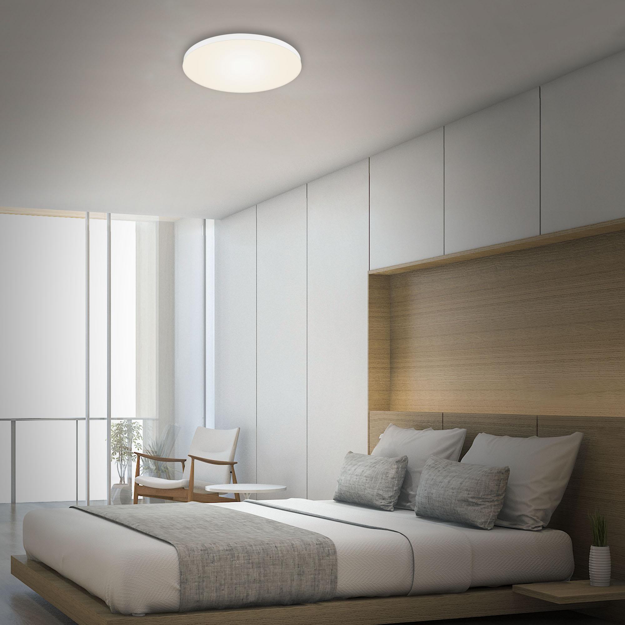 LED Deckenleuchte, Ø 38,7 cm, 24,5 W, Weiß