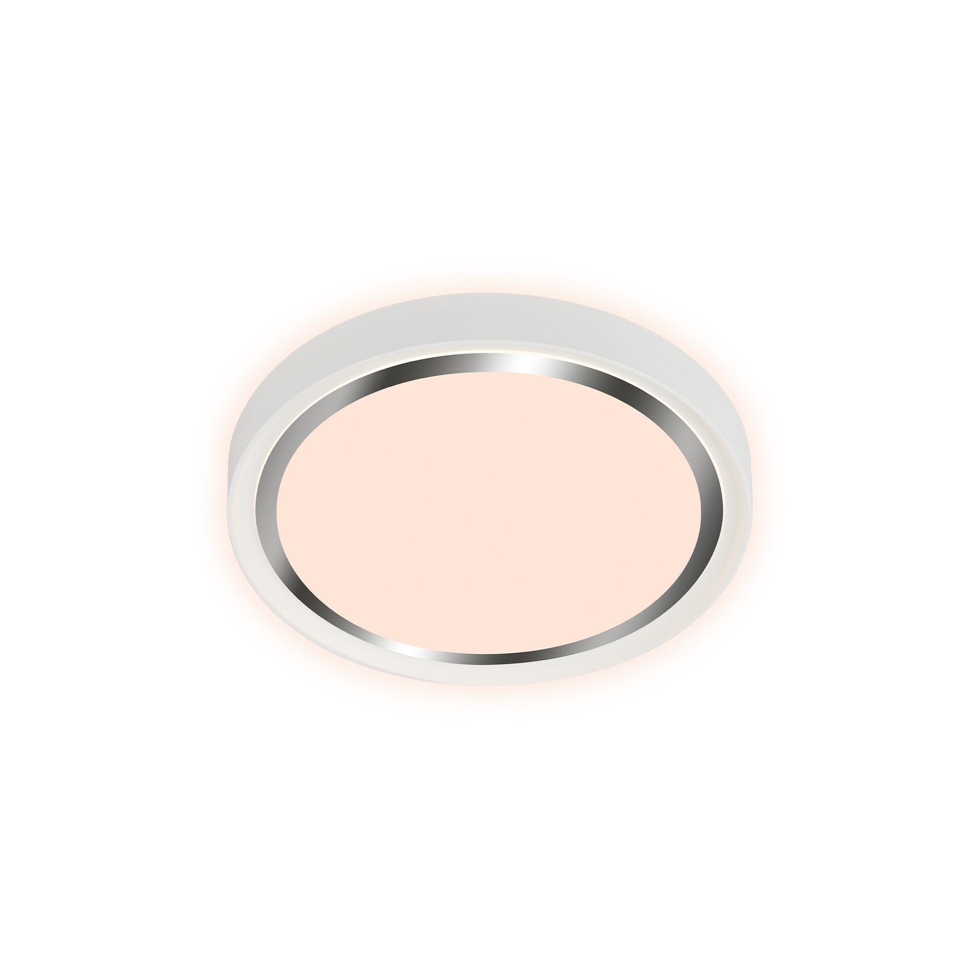LED Deckenleuchte, Ø 33,4 cm, 15 W, Weiß