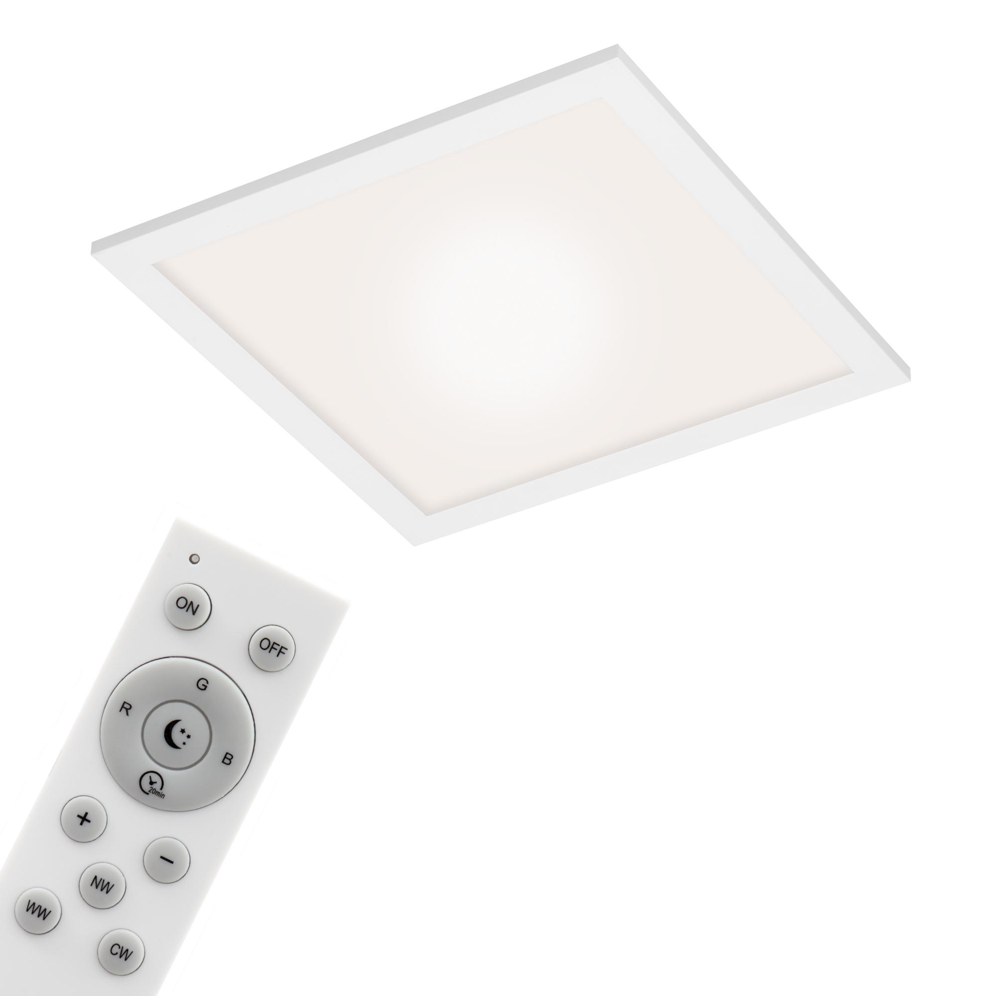 Smart CCT/RGB Panel, 29,5 cm 18 W, Weiß