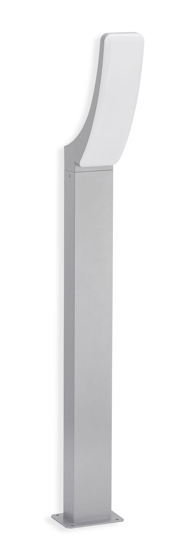 TELEFUNKEN LED Aussenstehleuchte, 97 cm, 15 W, Silber
