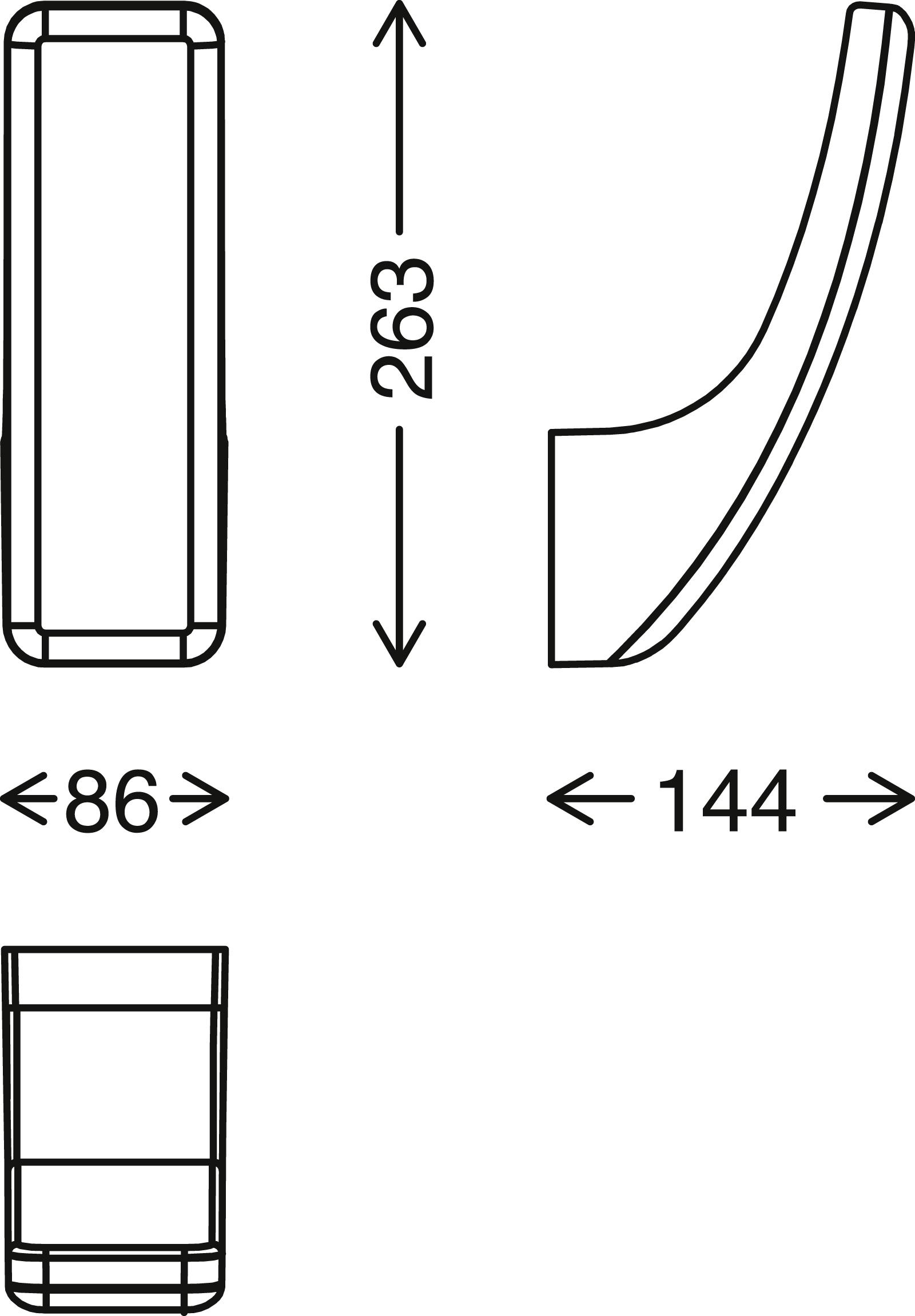TELEFUNKEN LED Aussenwandleuchte, 33,2 cm, 15 W, Schwarz