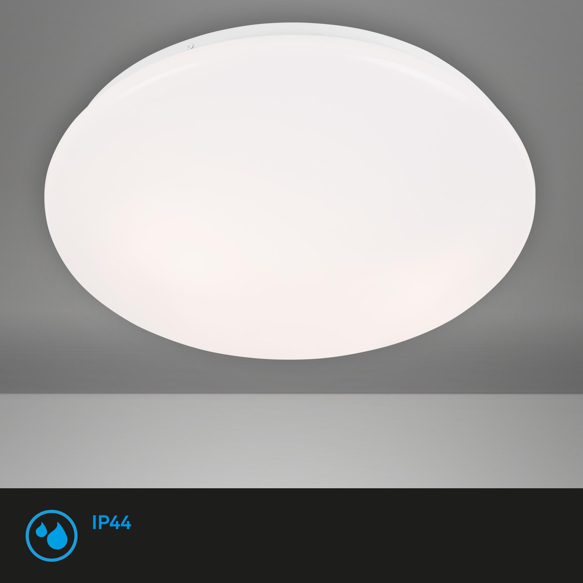 Deckenleuchte, Ø 38 cm, max. 40 W, Weiß