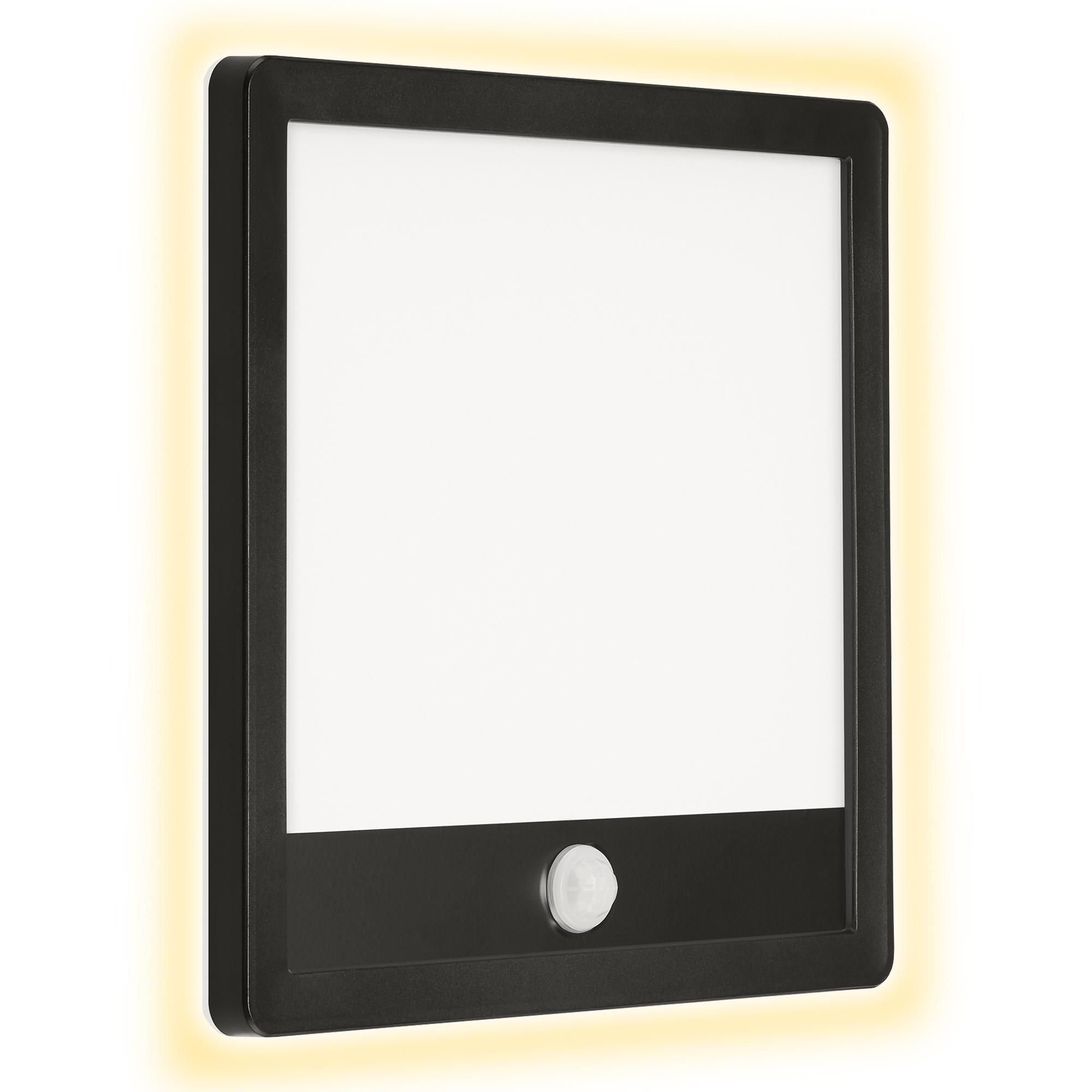 TELEFUNKEN LED Außenwandleuchte, 25 cm, 15 W, Schwarz