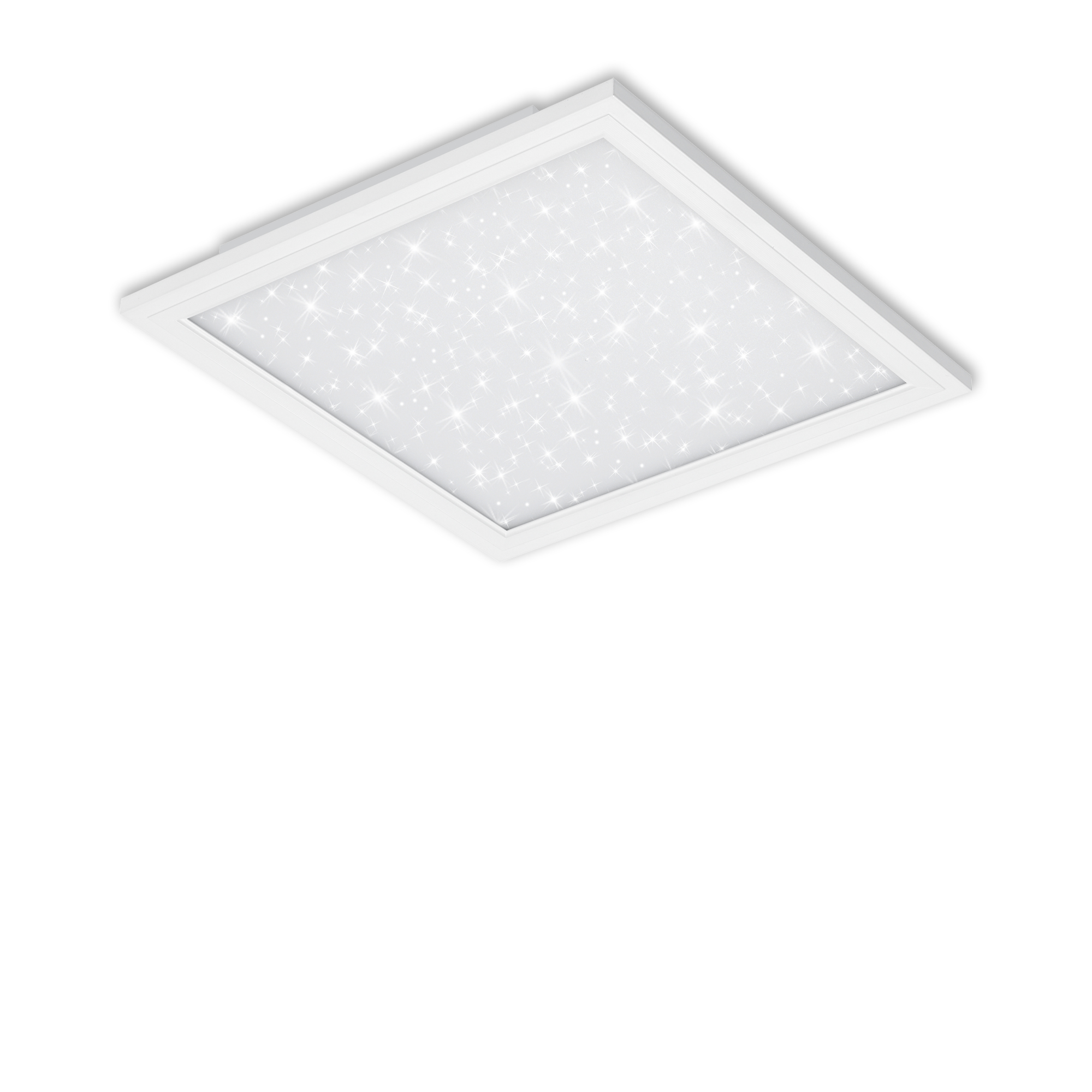 STERNENHIMMEL LED Panel, 29,5 cm, 1300 LUMEN, 12 WATT, Weiss