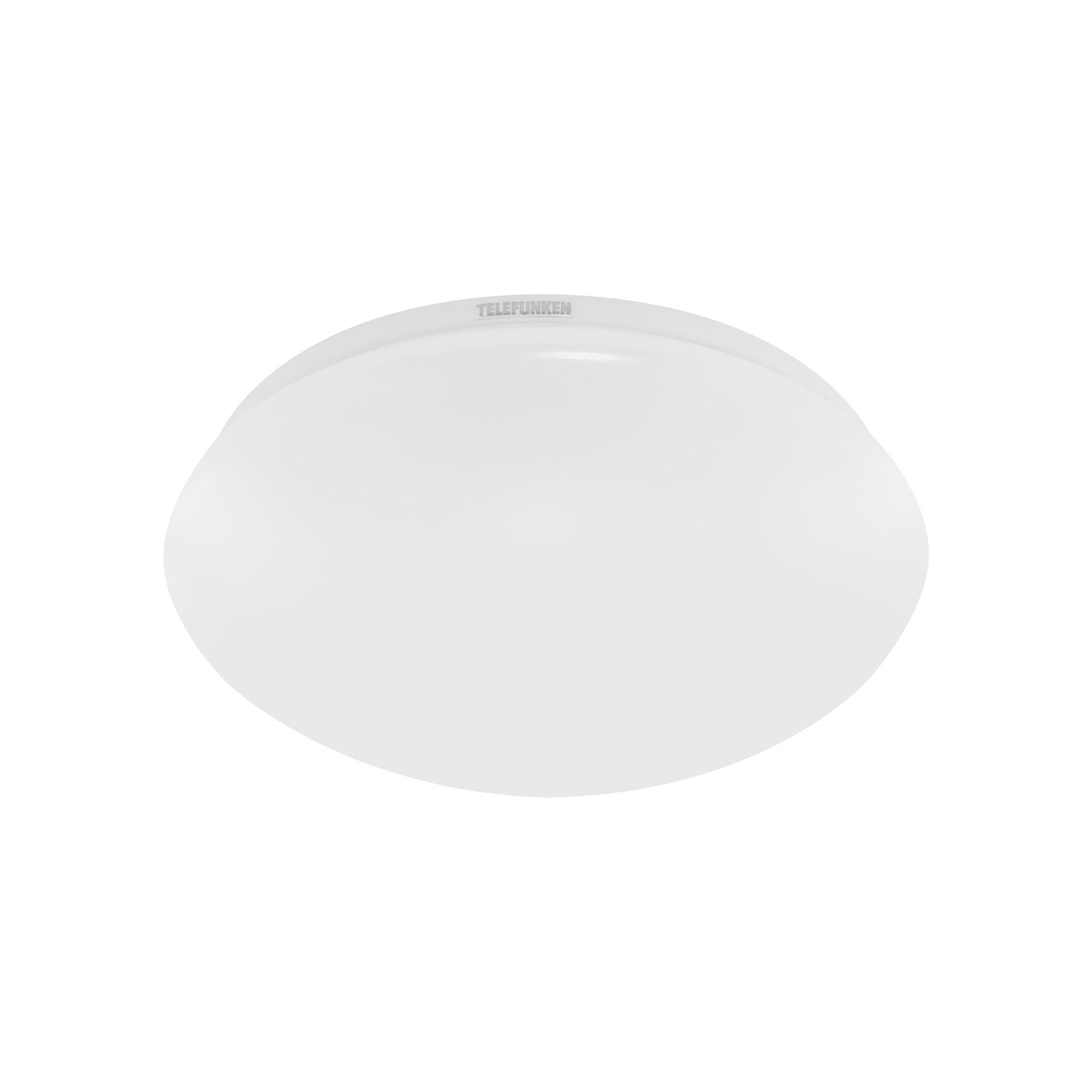 TELEFUNKEN LED Deckenleuchte, Ø 27,8 cm, 15 W, Weiß