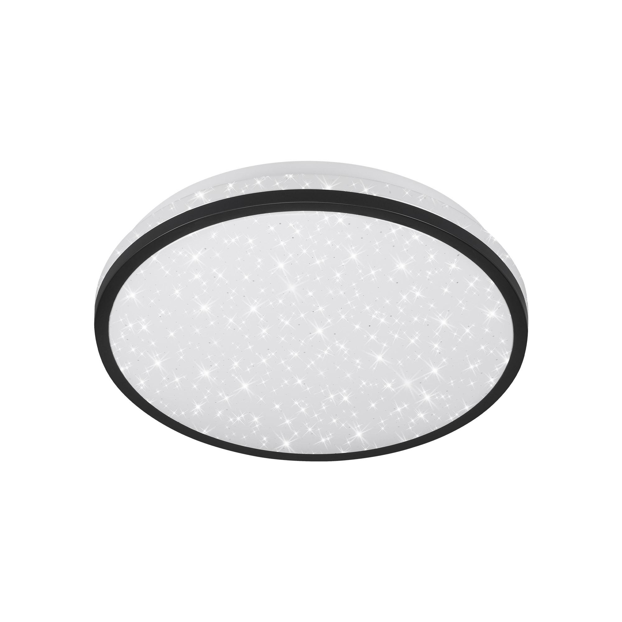 TELEFUNKEN Sensor LED Deckenleuchte, Ø 28 cm, 16 W, Schwarz