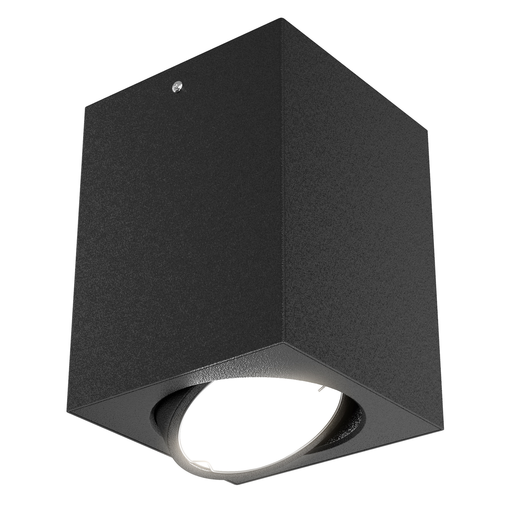 LED Aufbauleuchte, 10,5 cm, 5 W, Schwarz
