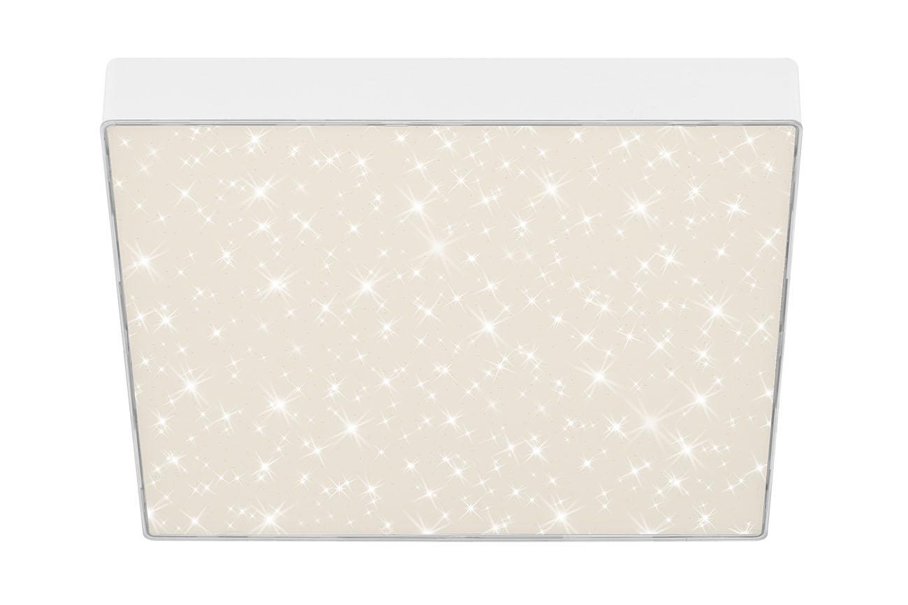 STERNENHIMMEL LED Deckenleuchte, 28,7 cm, 21 W, Weiss