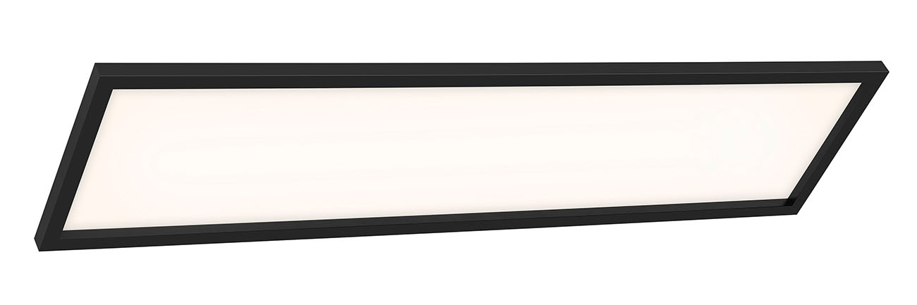 CCT LED Panel, 119,5 cm, 3800 LUMEN, 36 WATT, Schwarz