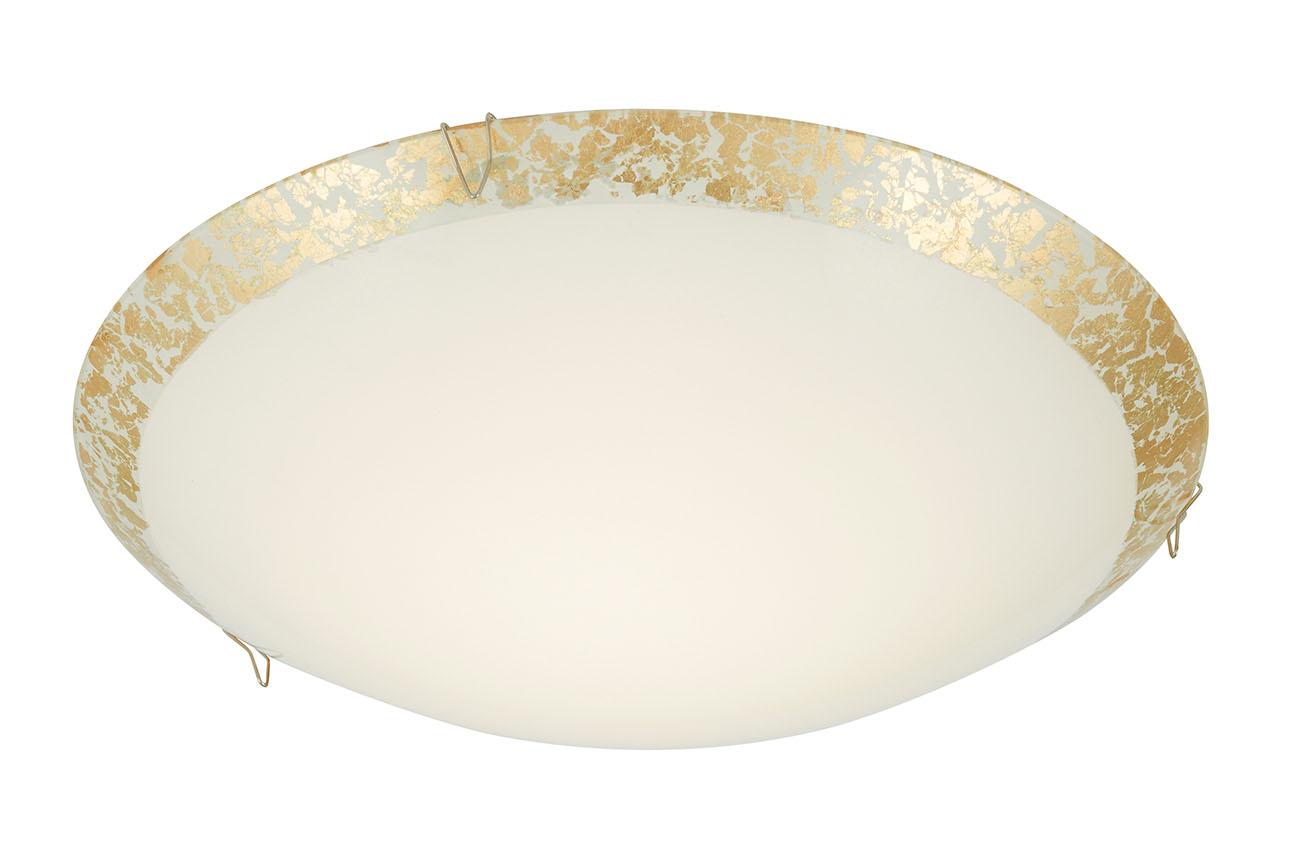 LED Deckenleuchte, Ø 25 cm, 8,4 W, Gold