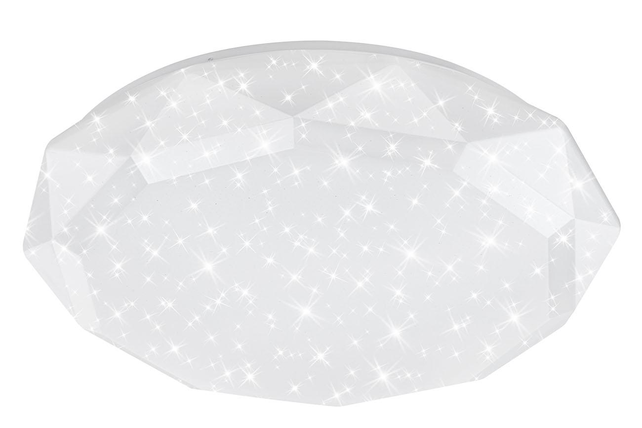 STERNENHIMMEL LED Deckenleuchte, 59,5 cm, 50 W, Weiss