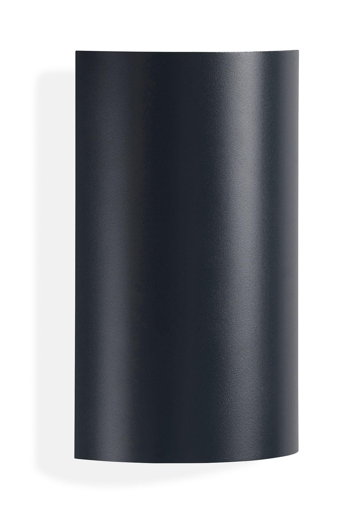 TELEFUNKEN LED Außenwandleuchte, 20 cm, 6 W, Anthrazit